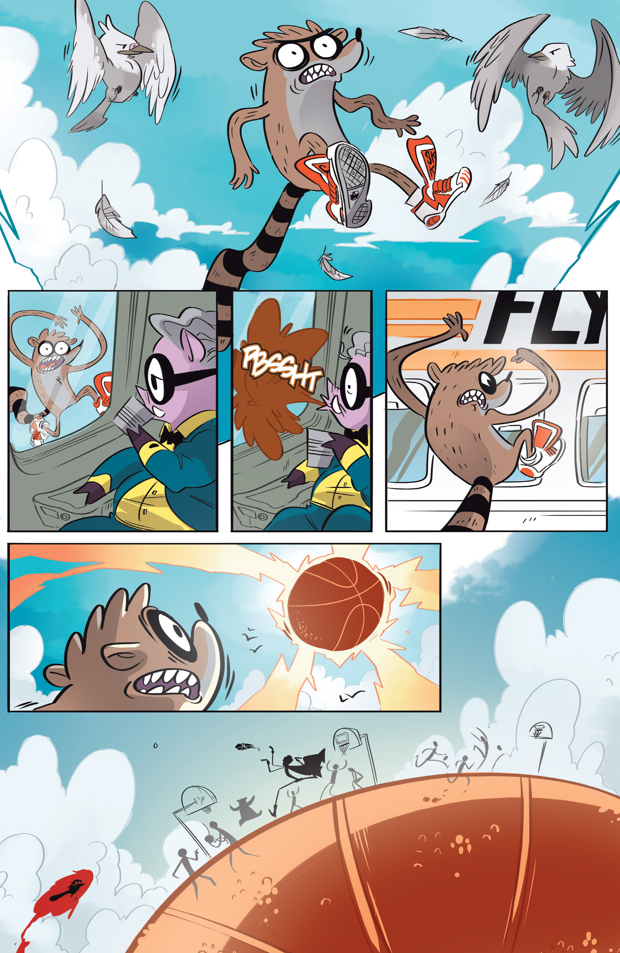 Read online Regular Show comic -  Issue # _Annual 1 - 5