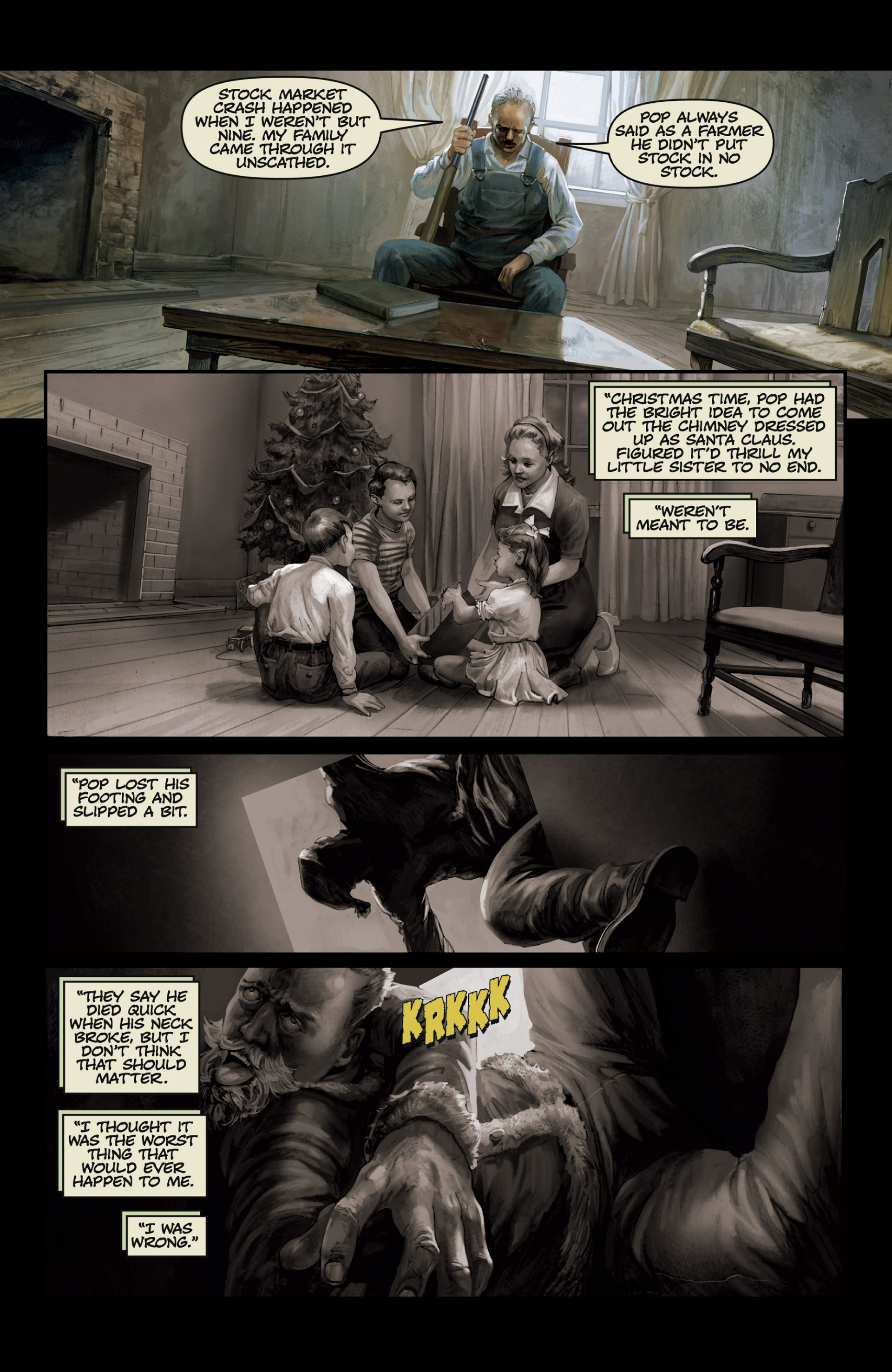 Read online Abattoir comic -  Issue #3 - 17