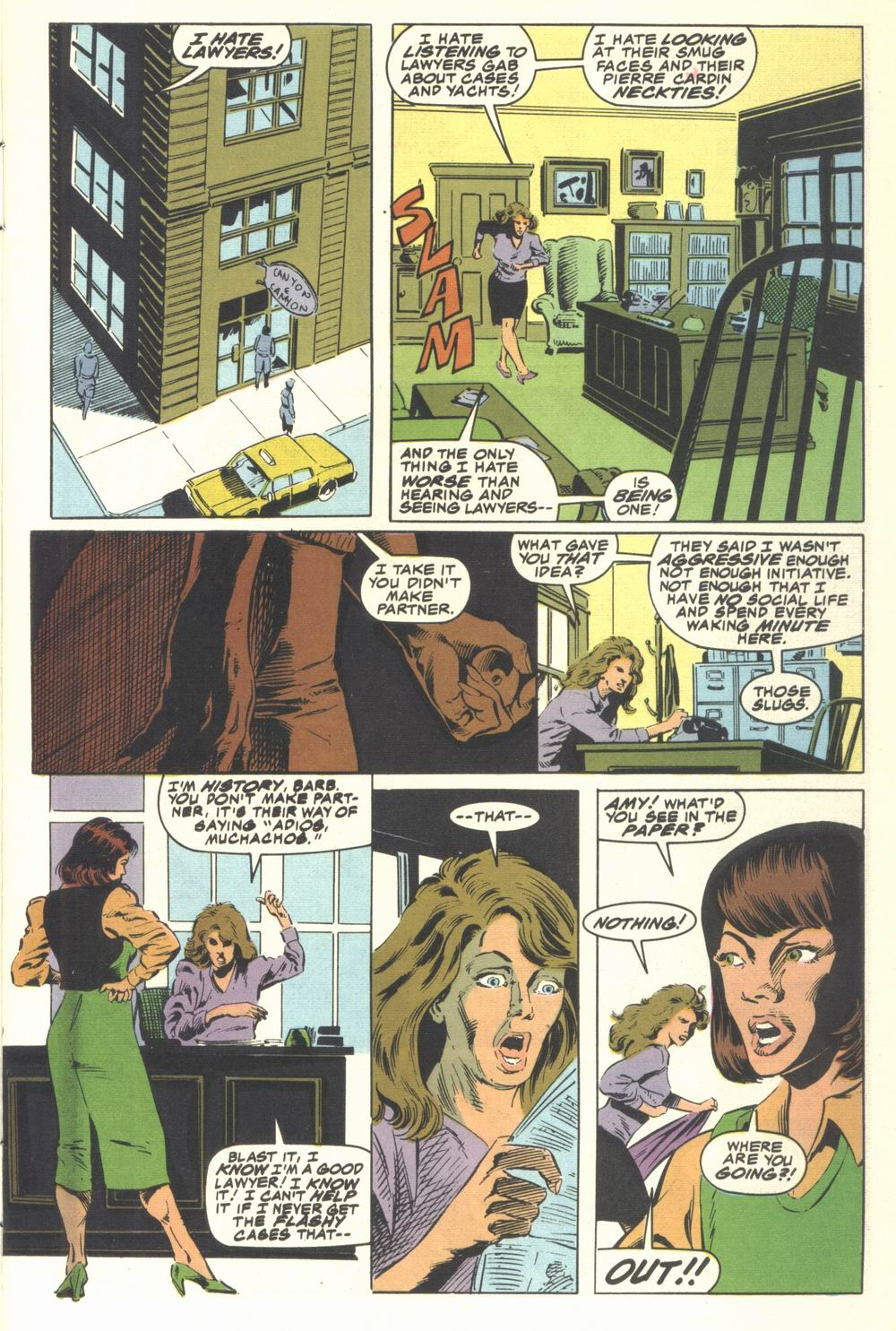 Read online Justice (1986) comic -  Issue #21 - 3