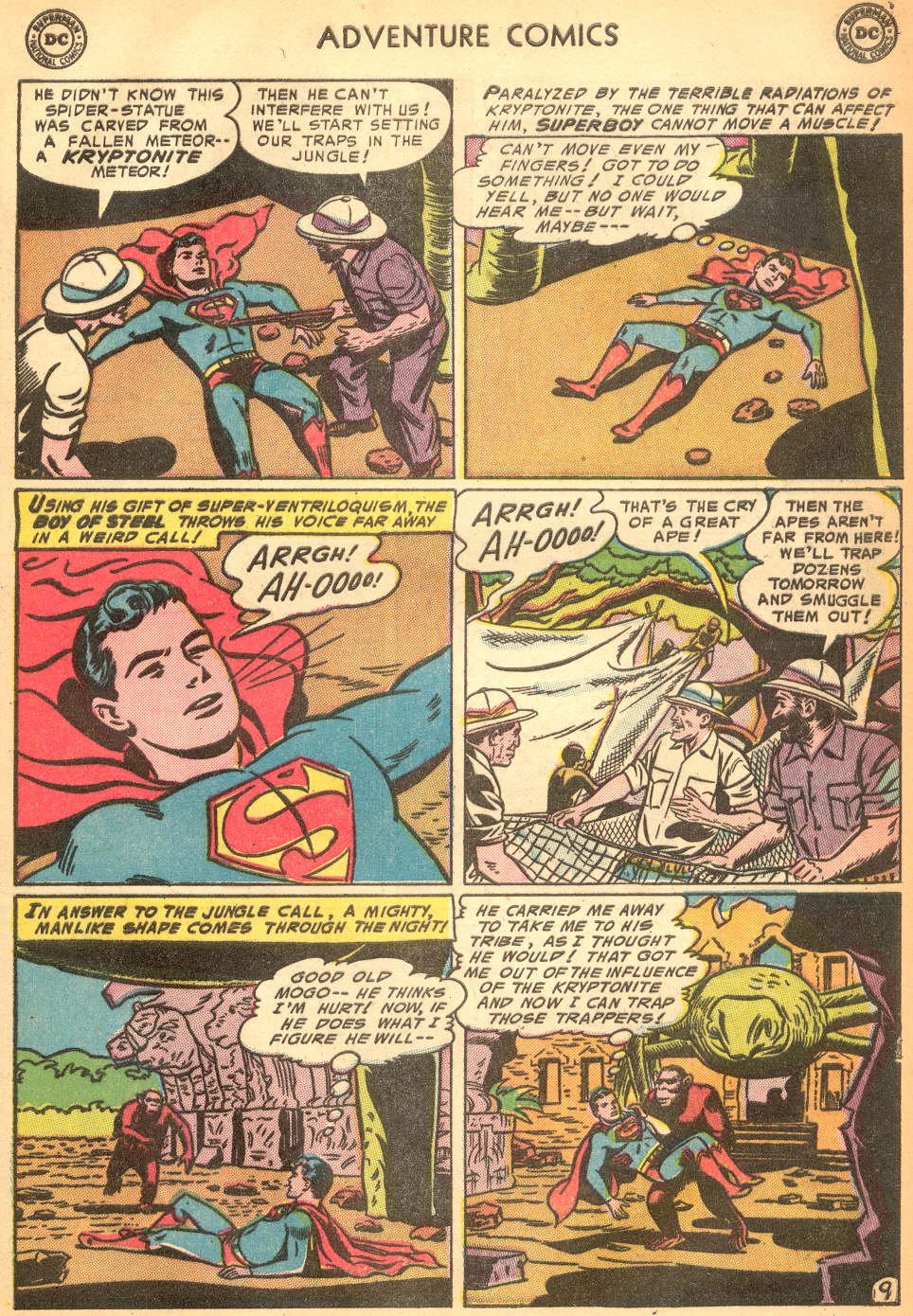 Read online Adventure Comics (1938) comic -  Issue #200 - 11