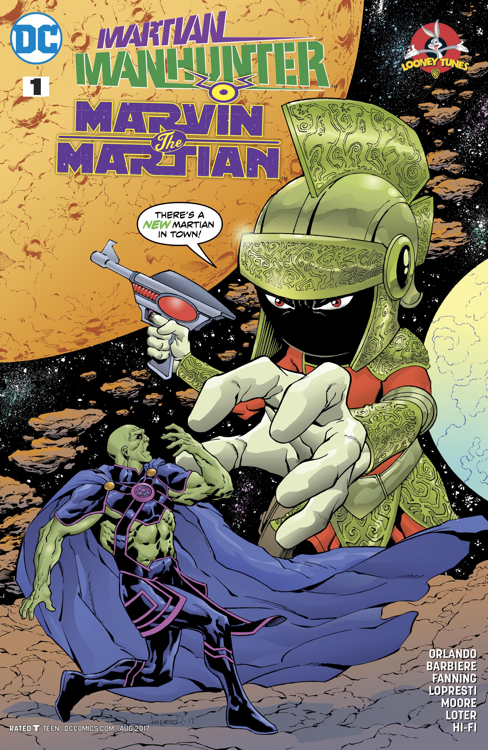 Read online Martian Manhunter/Marvin the Martian Special comic -  Issue # Full - 1