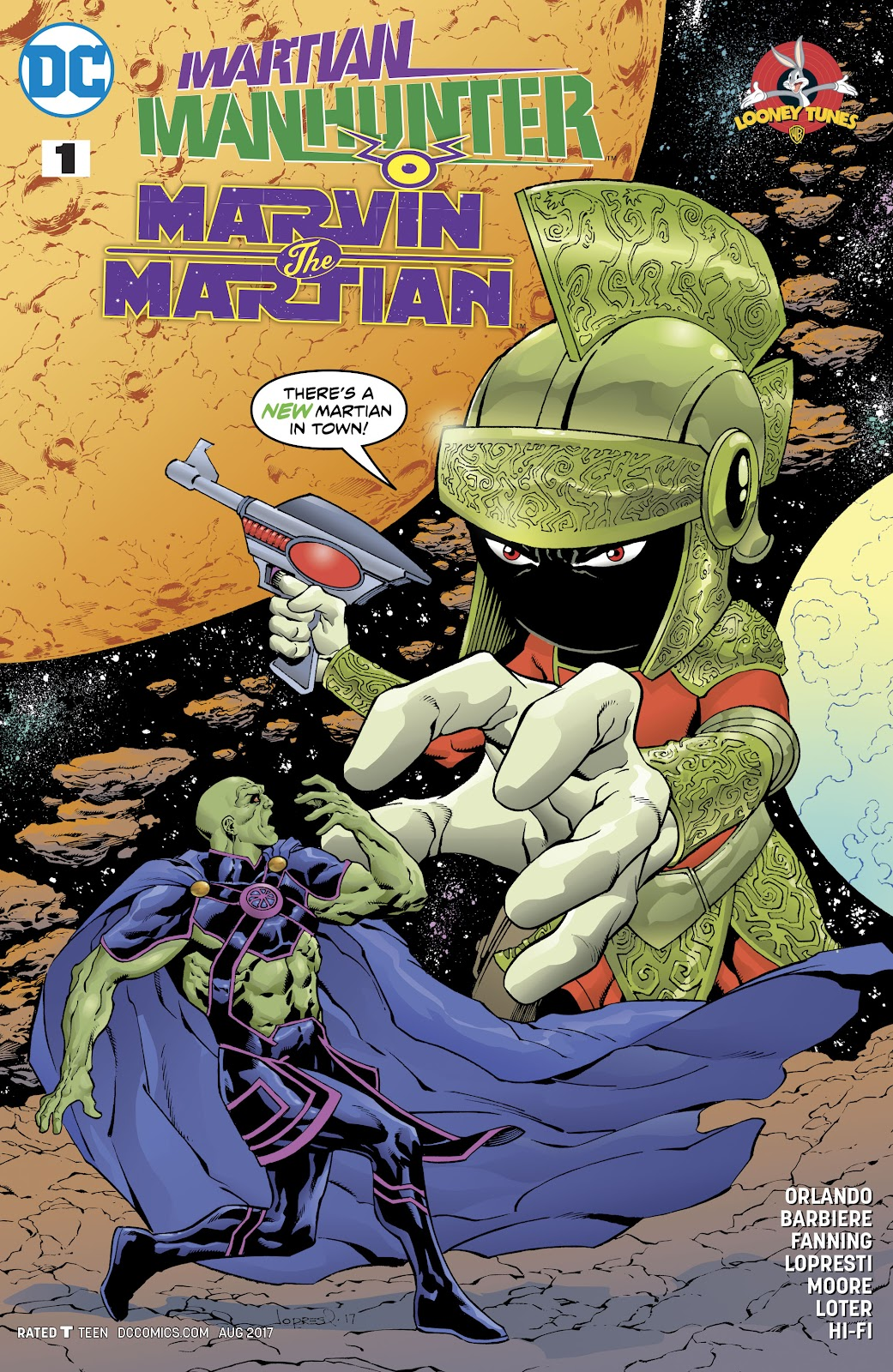 Martian Manhunter/Marvin the Martian Special issue Full - Page 1