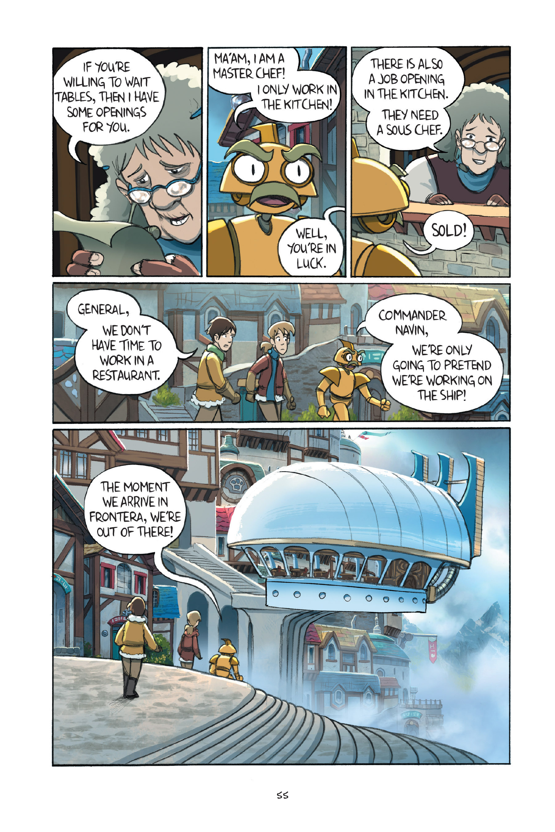 Read online Amulet comic -  Issue #7 - 57