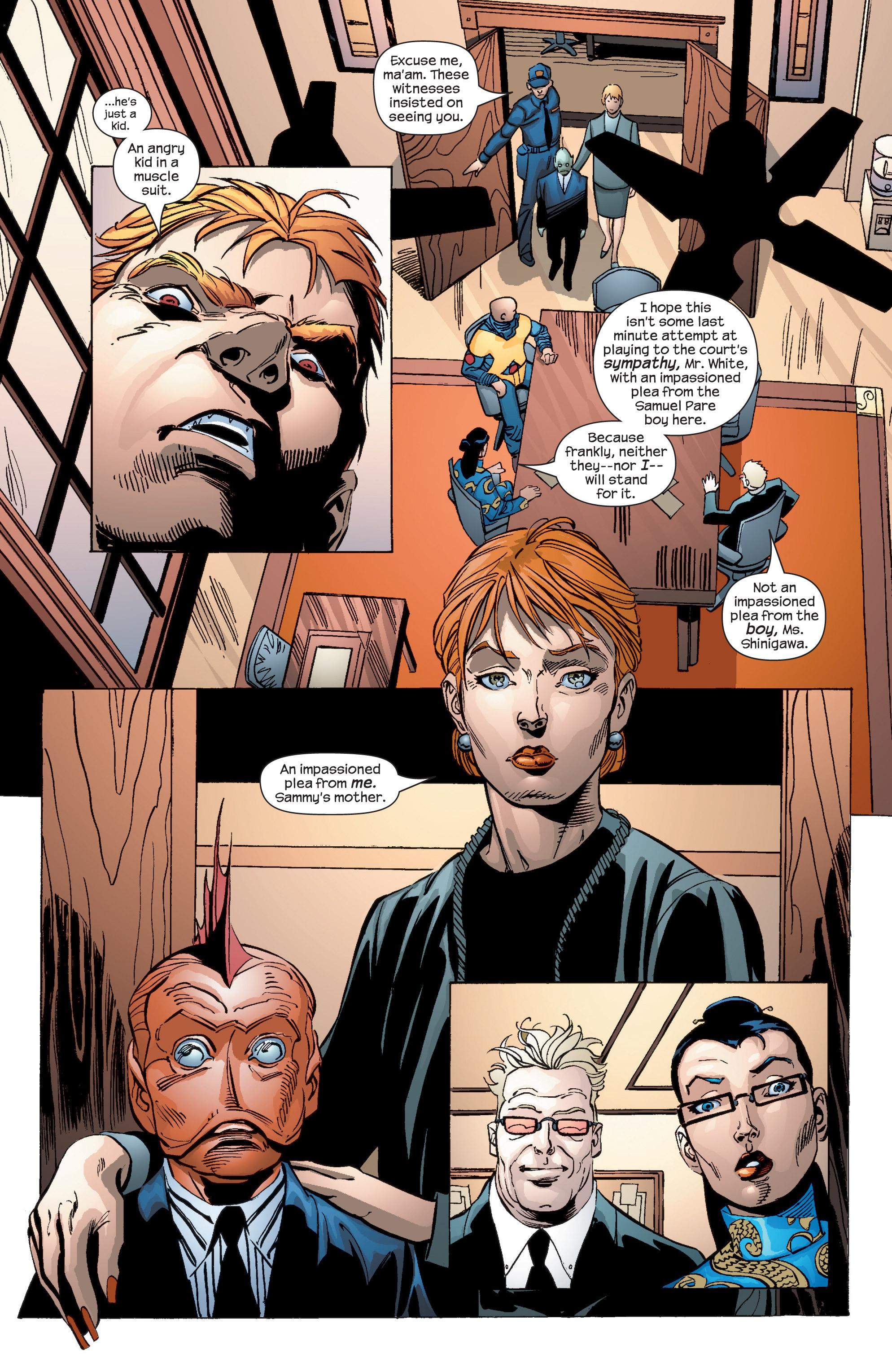 Read online Uncanny X-Men (1963) comic -  Issue #436 - 19