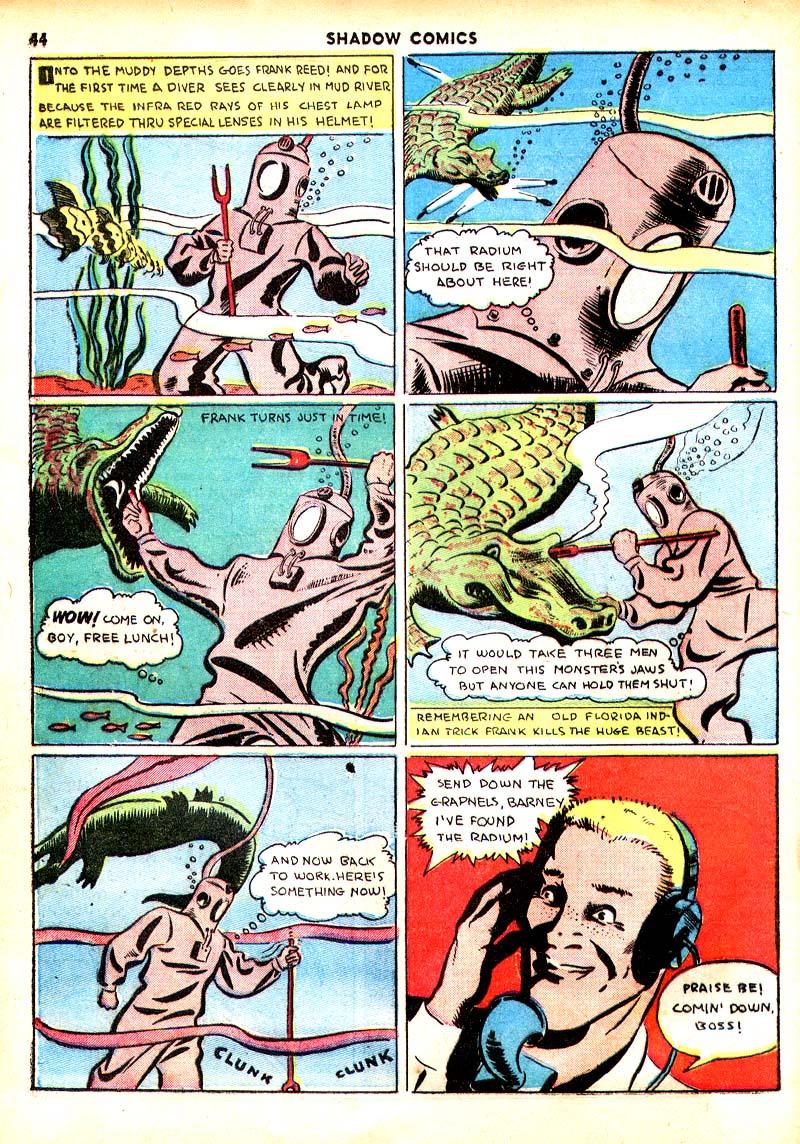 Read online Shadow Comics comic -  Issue #7 - 37