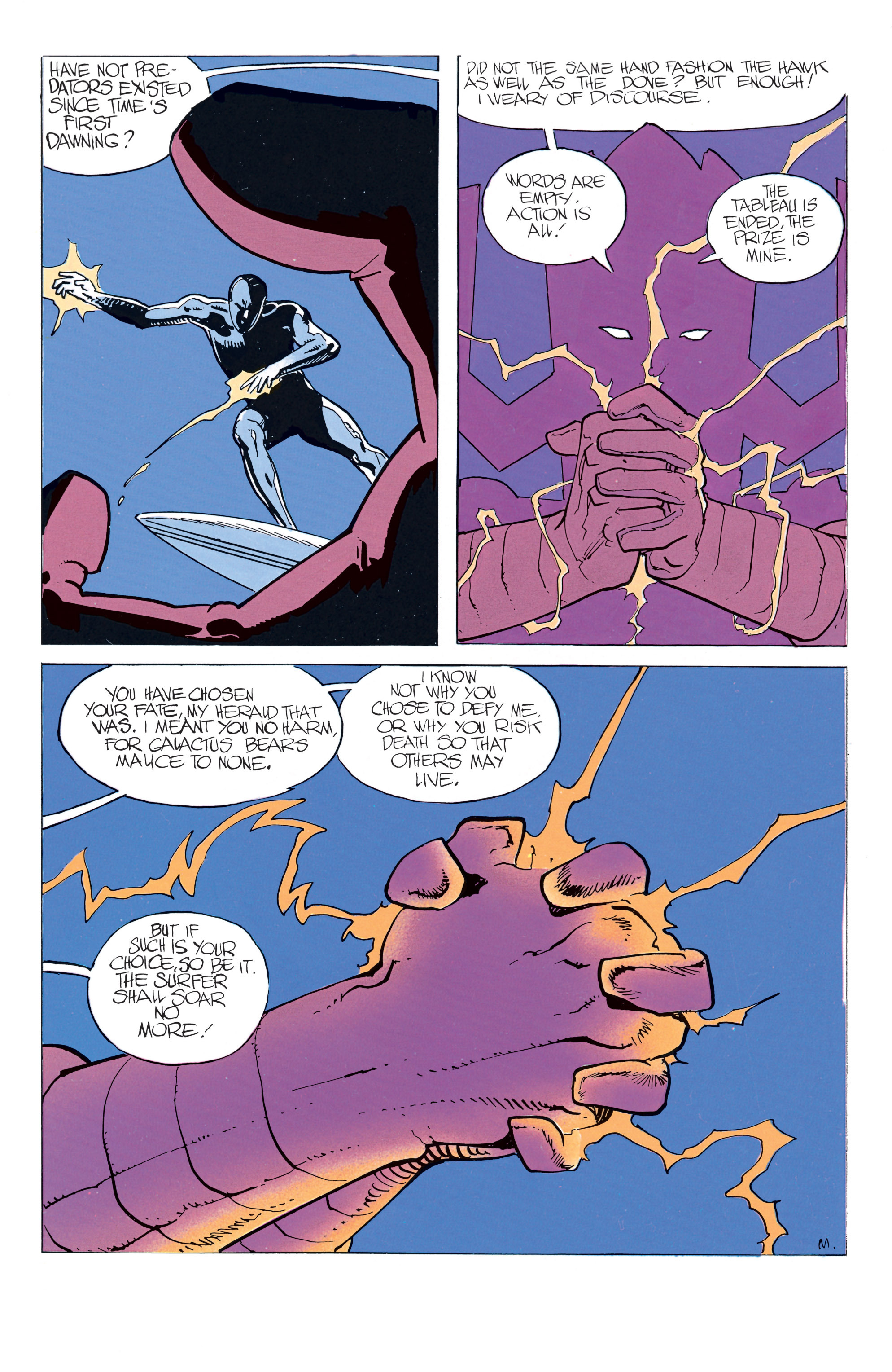 Read online Silver Surfer: Parable comic -  Issue # TPB - 47