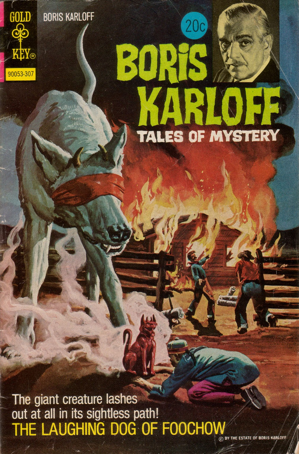 Boris Karloff Tales of Mystery issue 48 - Page 1