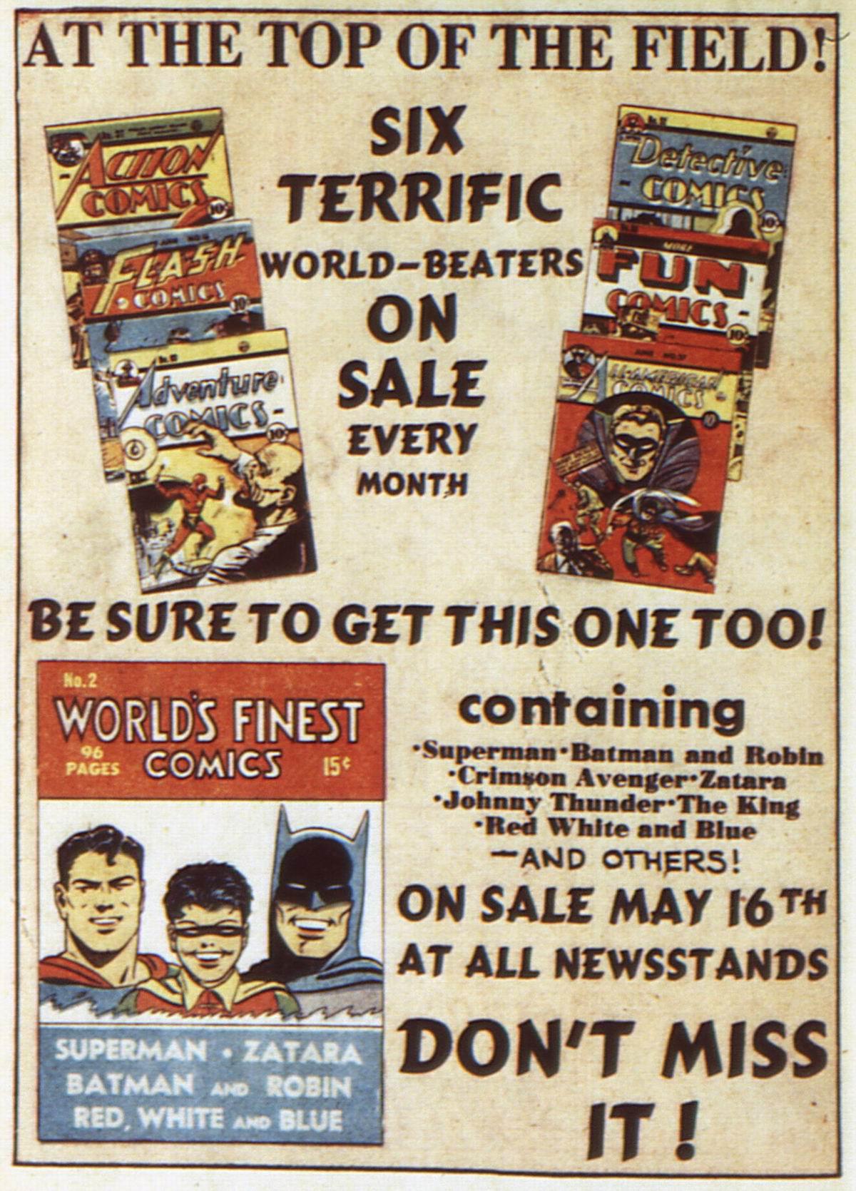 Read online Detective Comics (1937) comic -  Issue #52 - 66