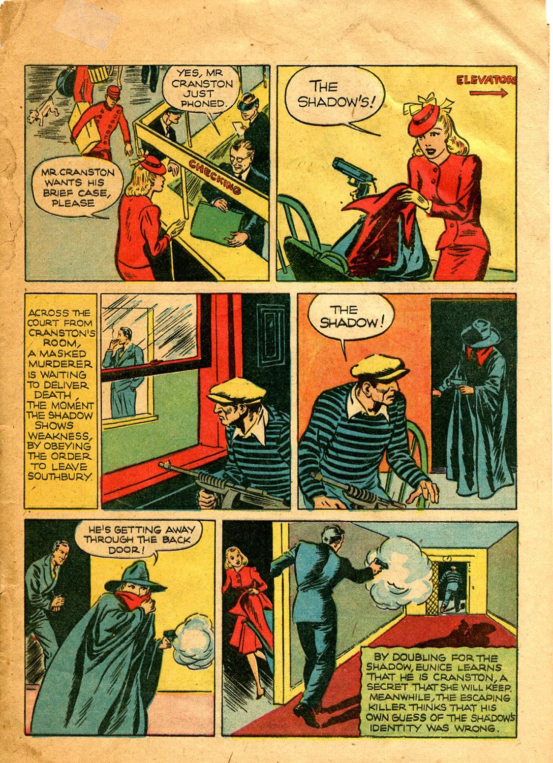 Read online Shadow Comics comic -  Issue #9 - 15