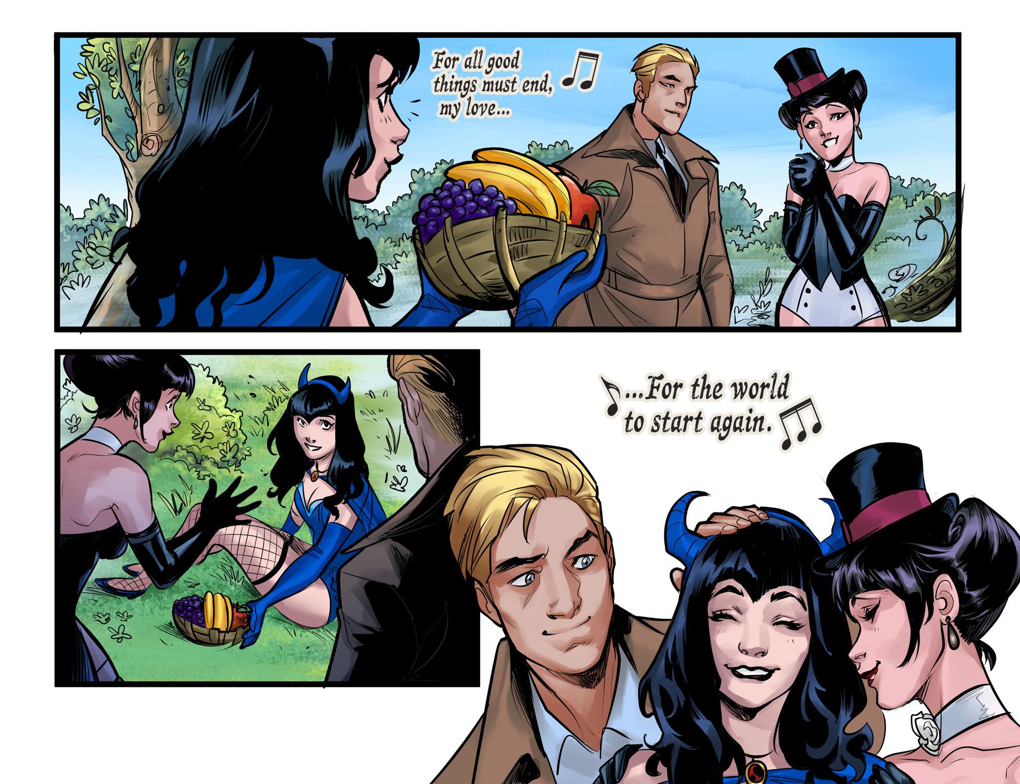 Read online DC Comics: Bombshells comic -  Issue #100 - 13
