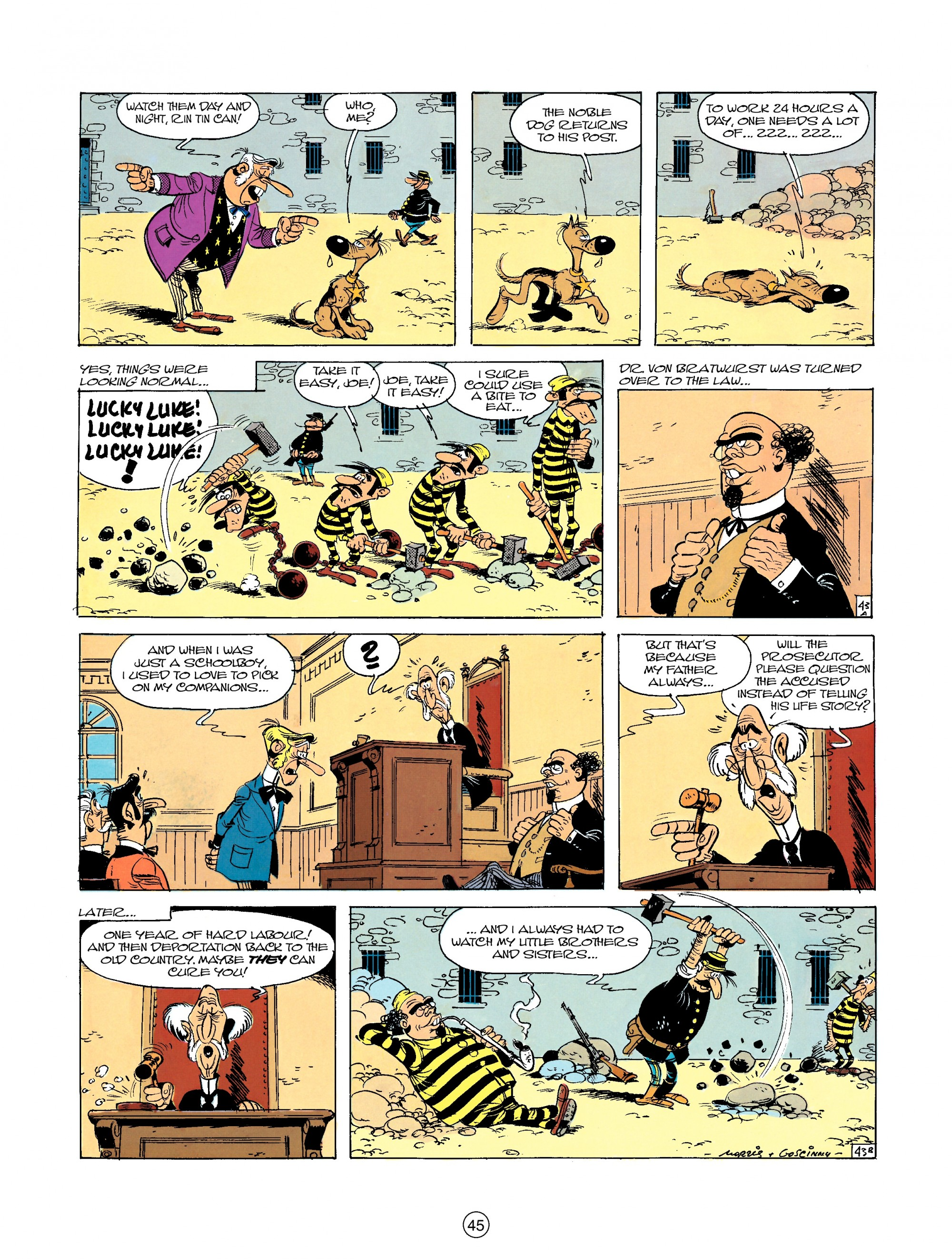Read online A Lucky Luke Adventure comic -  Issue #23 - 45