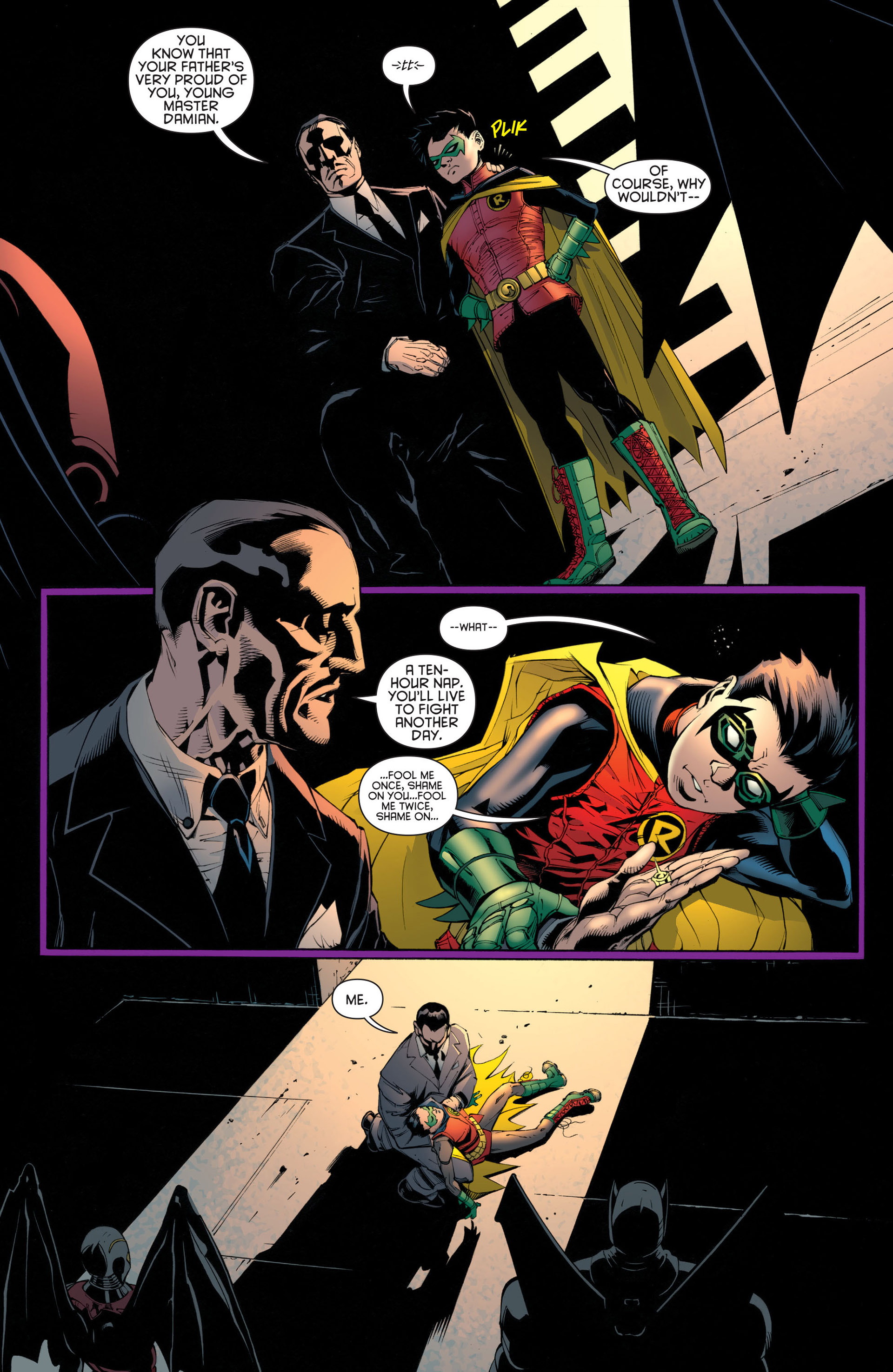 Read online Batman and Robin (2011) comic -  Issue #23 - Batman and Nightwing - 18