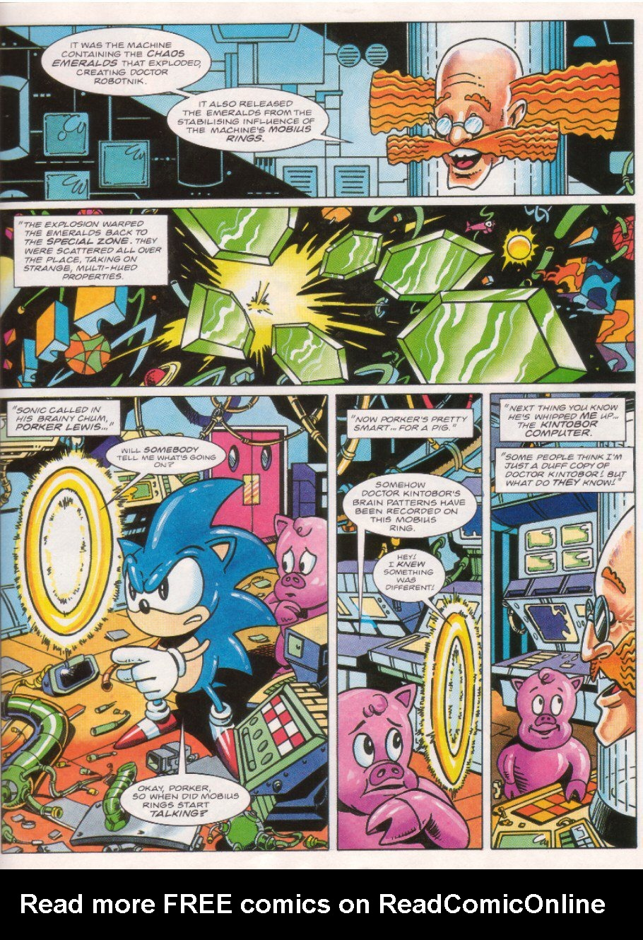 Read online Sonic the Comic comic -  Issue #26 - 20