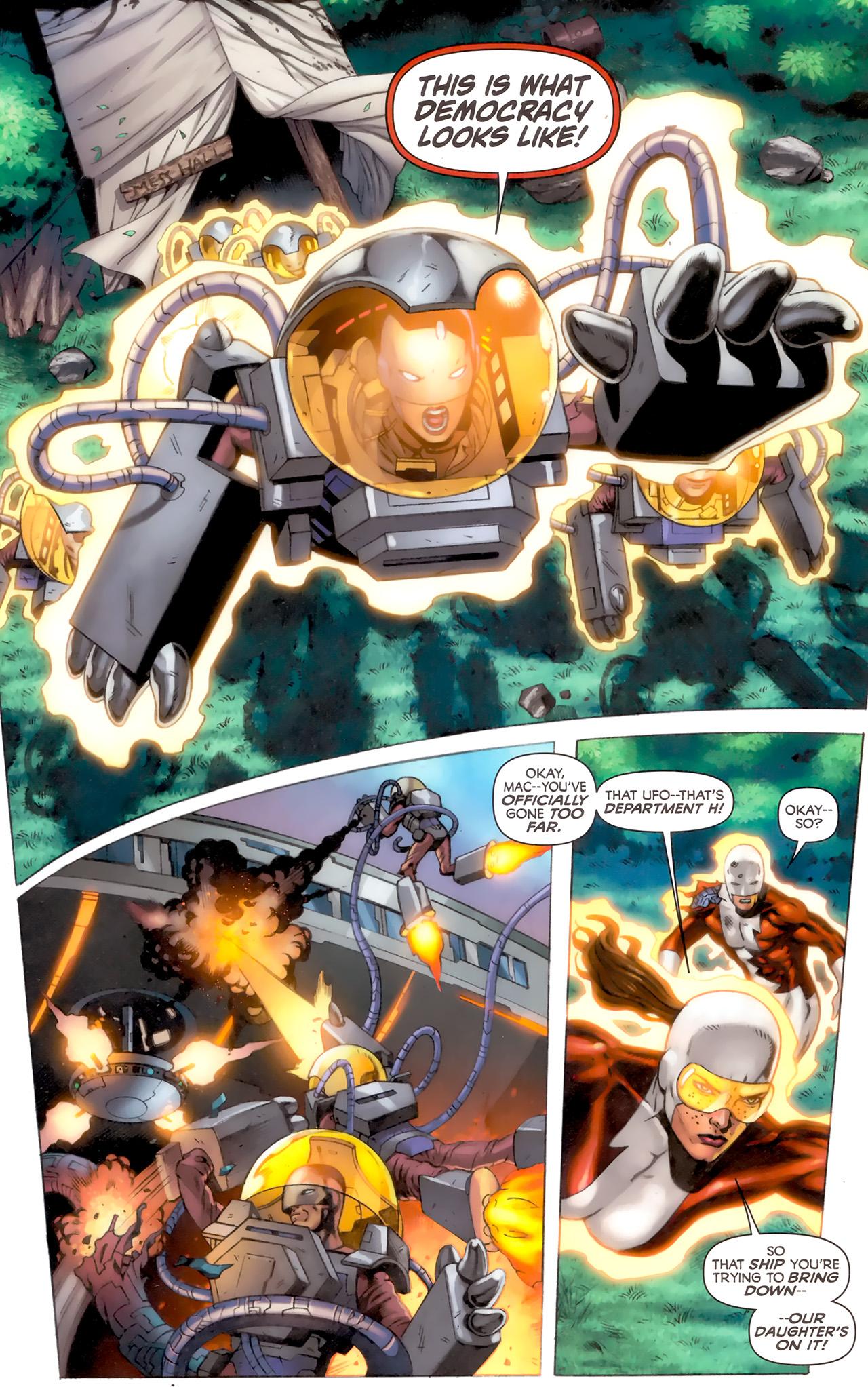 Read online Alpha Flight (2011) comic -  Issue #8 - 14