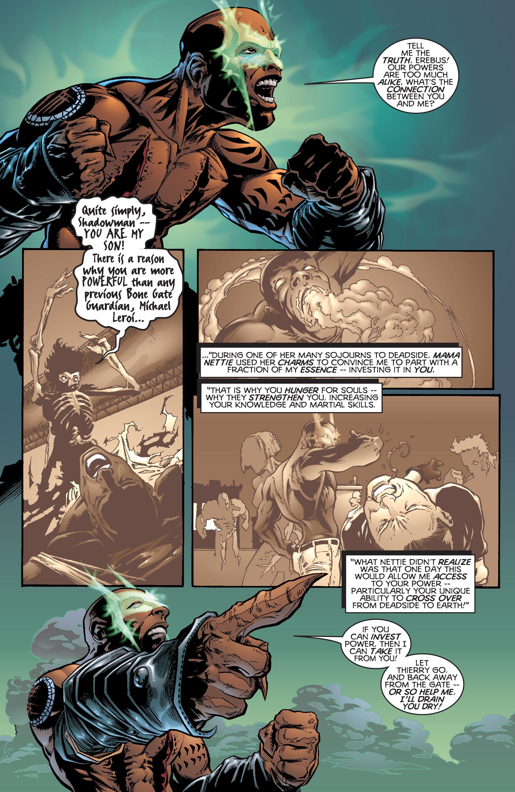 Read online Shadowman (1997) comic -  Issue #20 - 19