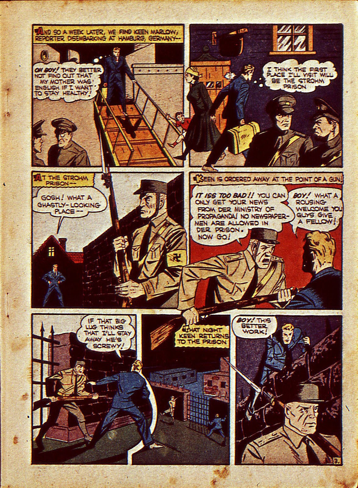 Mystic Comics (1940) issue 6 - Page 6