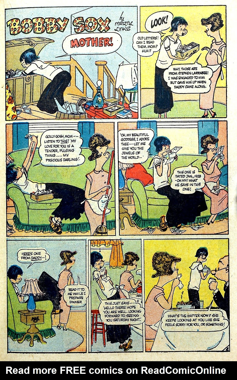 Read online Famous Funnies comic -  Issue #187 - 31