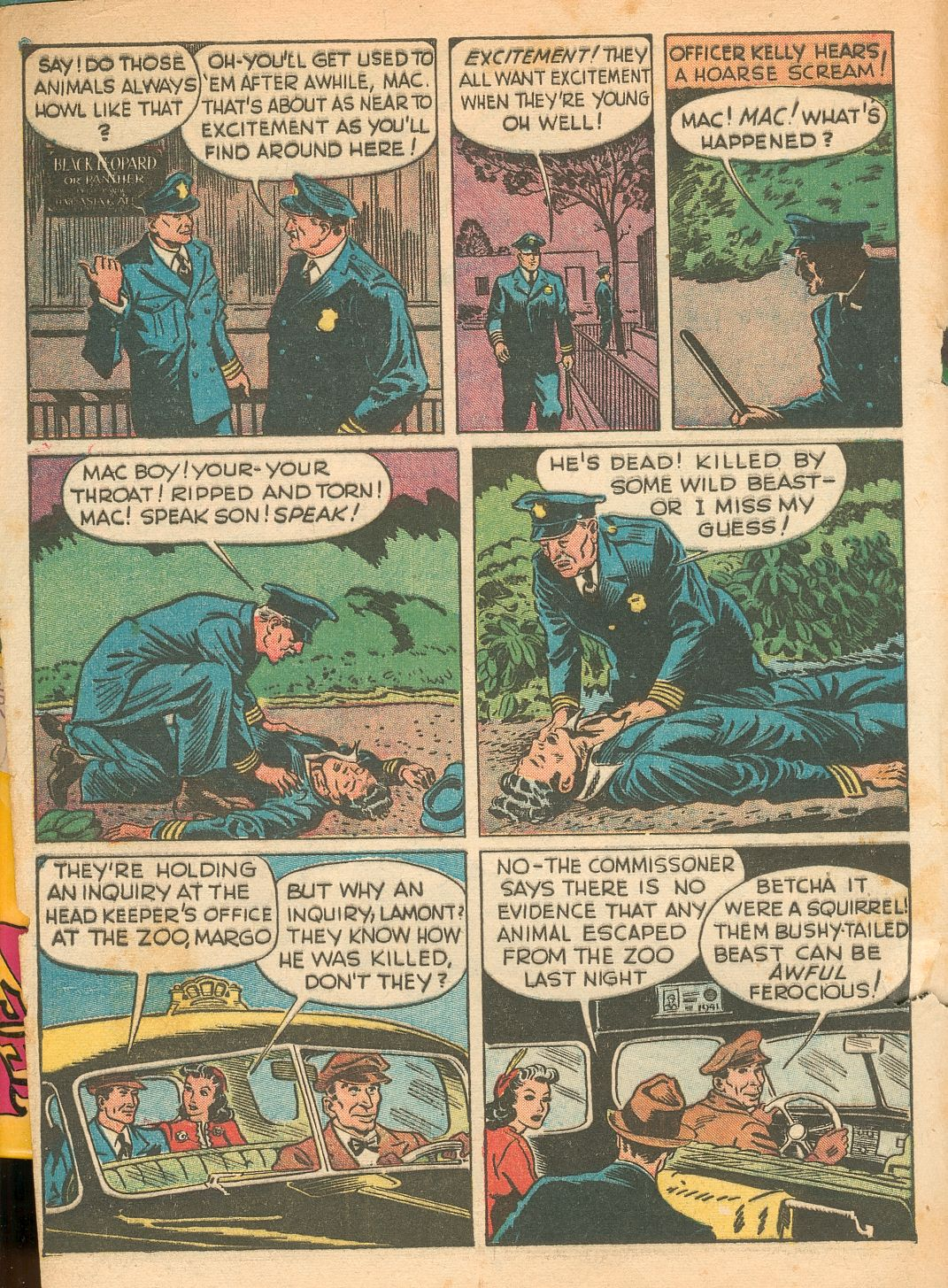 Read online Shadow Comics comic -  Issue #11 - 4