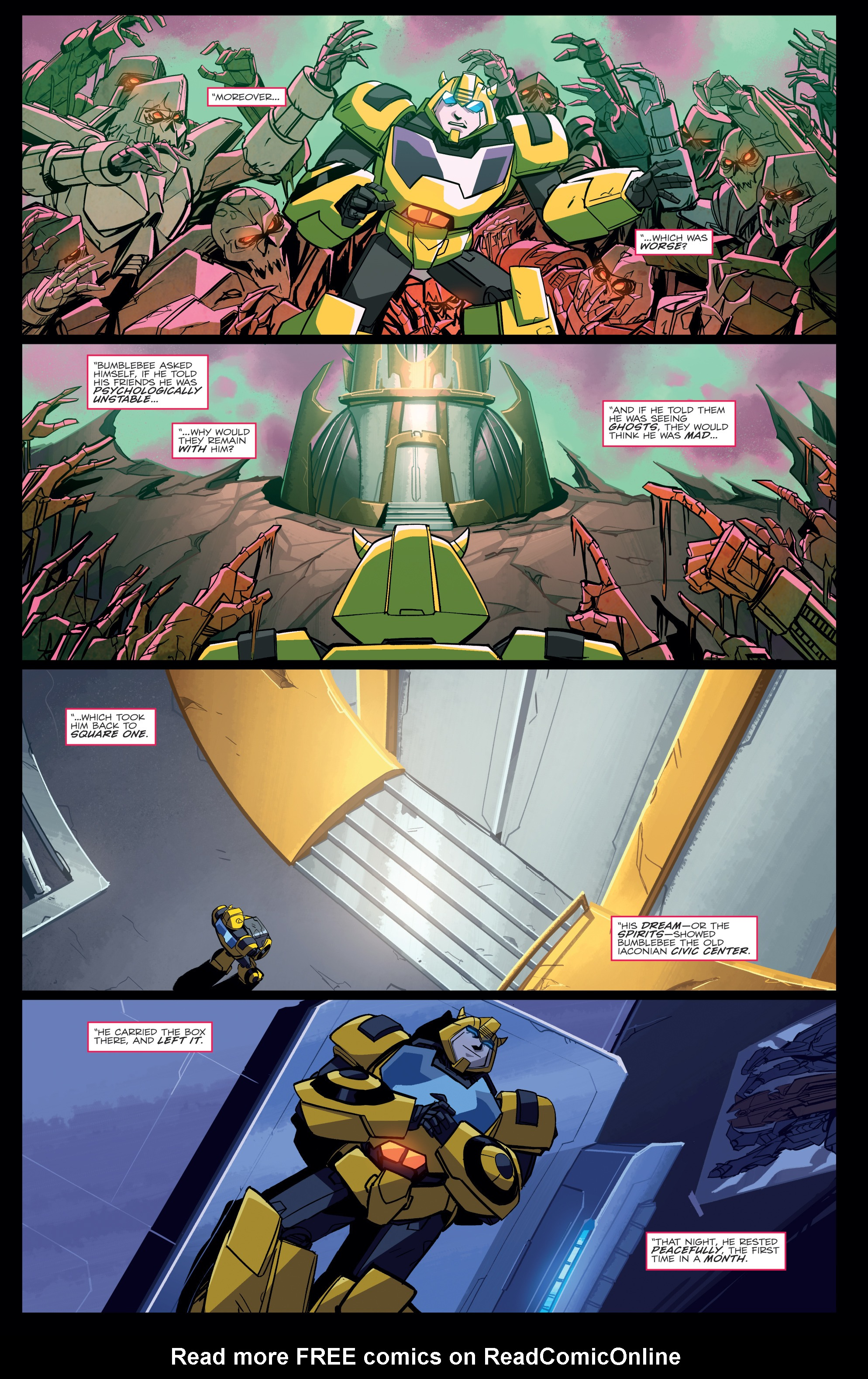 Read online Transformers Annual comic -  Issue # Full - 12