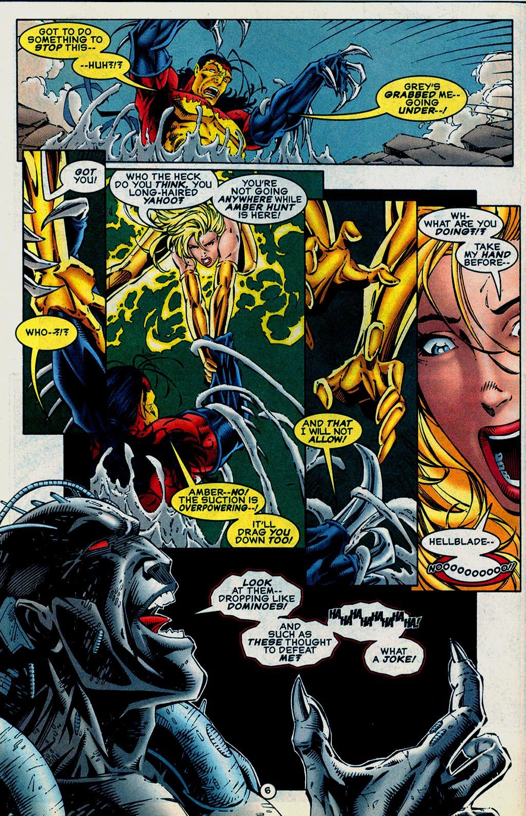 Read online UltraForce (1995) comic -  Issue #15 - 7
