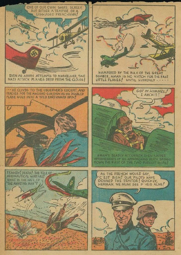 Read online Amazing Man Comics comic -  Issue #9 - 5