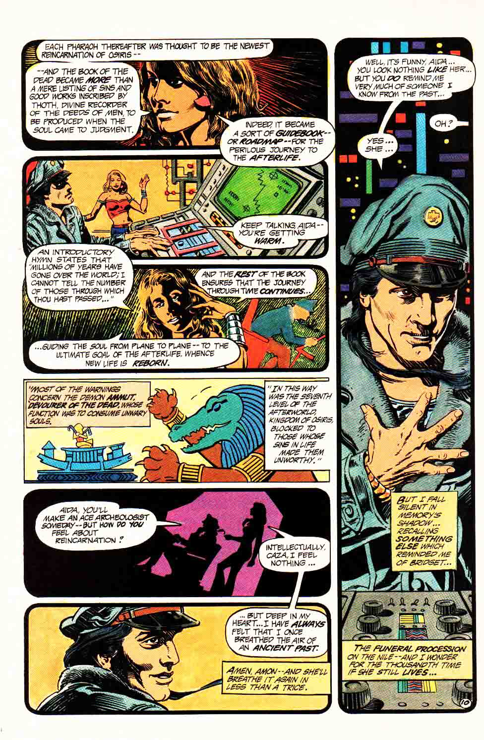 Read online Aztec Ace comic -  Issue #4 - 12