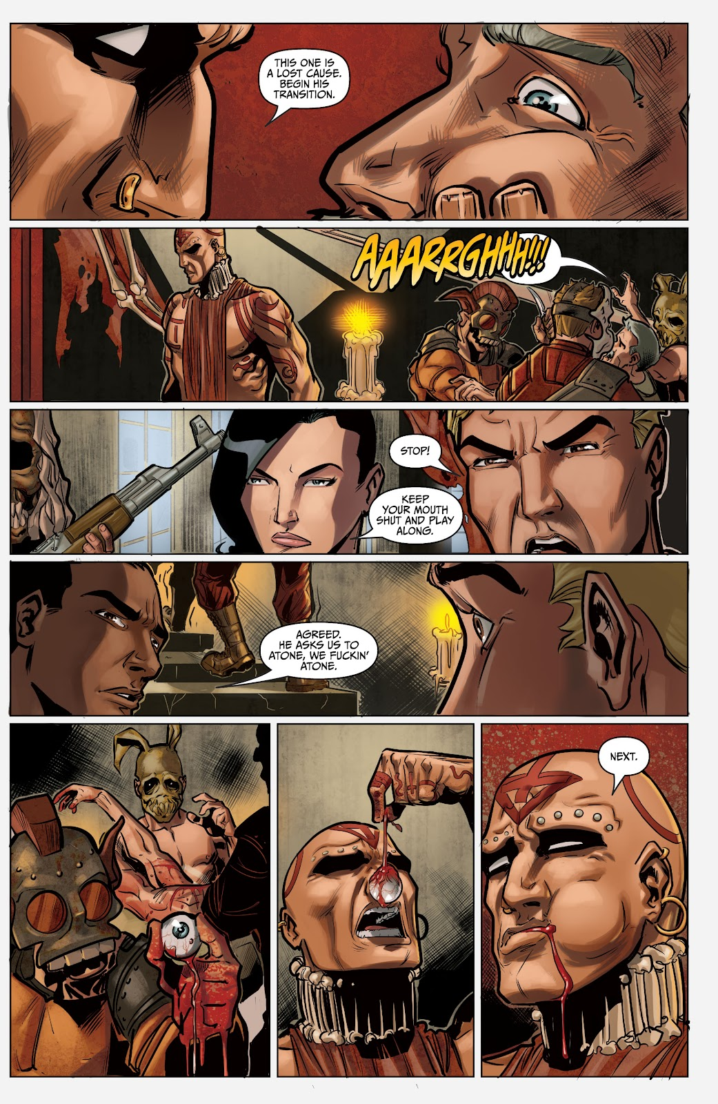 The Courier: Liberty & Death issue 2 - Page 20
