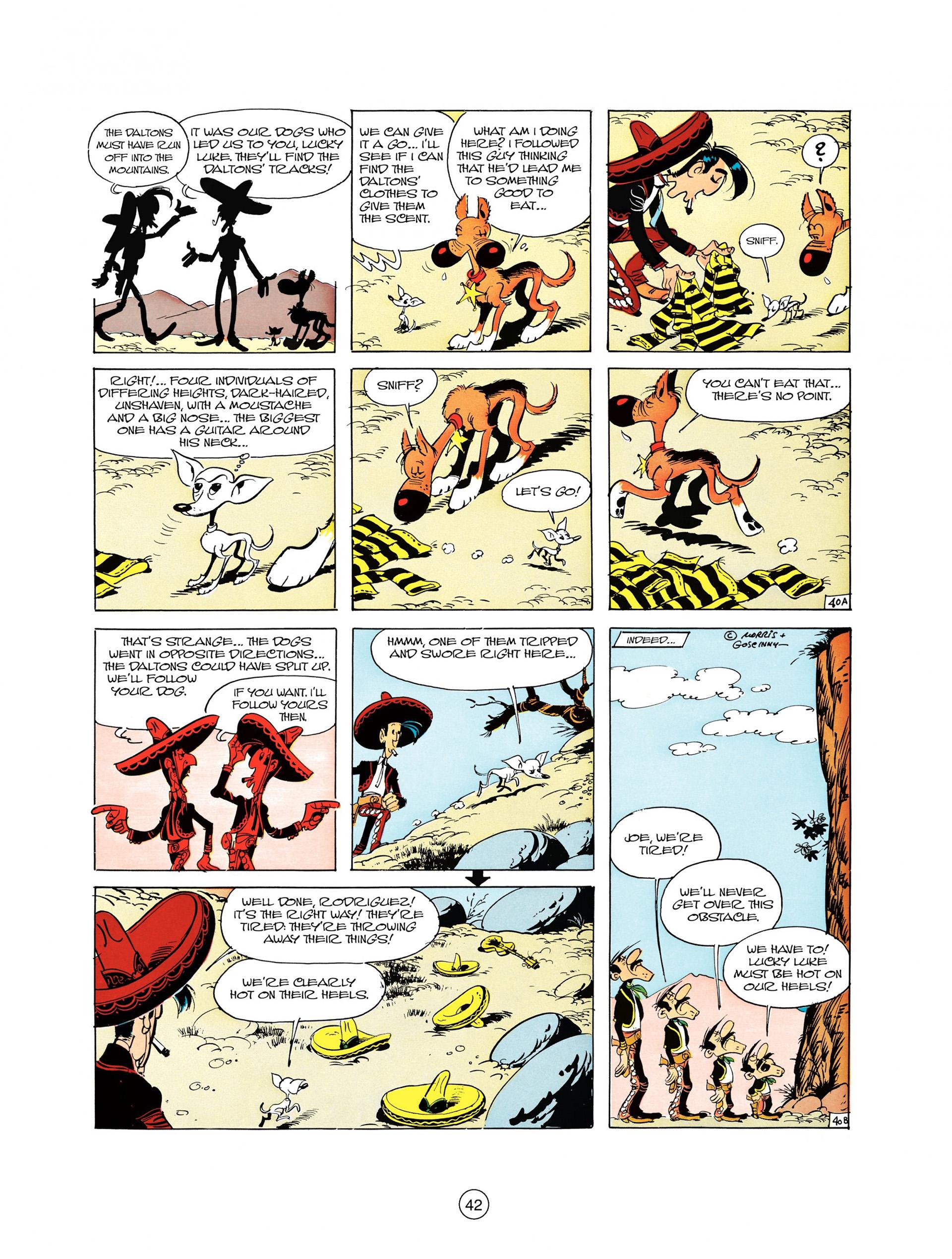 Read online A Lucky Luke Adventure comic -  Issue #10 - 42