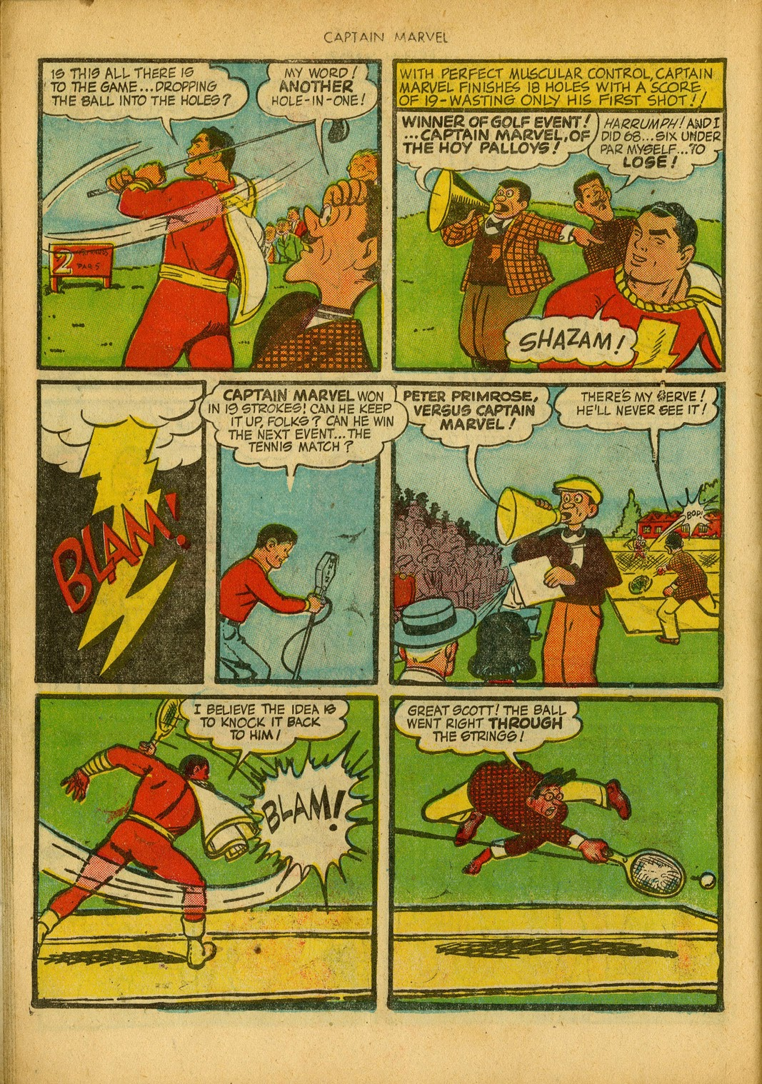 Captain Marvel Adventures issue 34 - Page 26