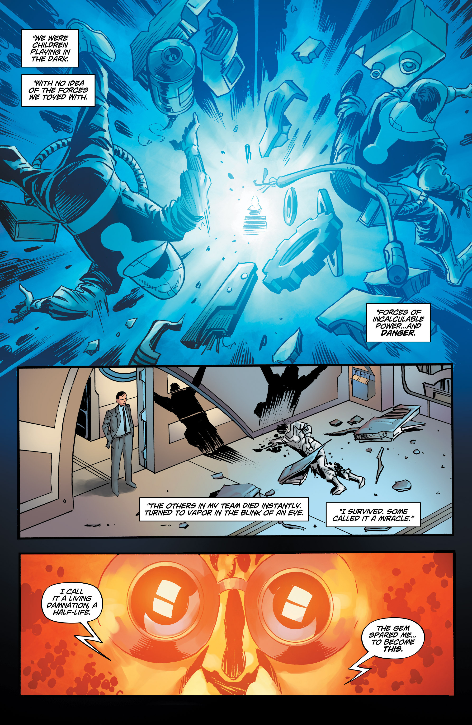 Read online Shadow Tiger comic -  Issue #3 - 4