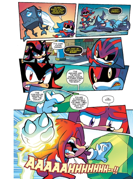 Read online Sonic Comics Spectacular: Speed of Sound comic -  Issue # Full - 247