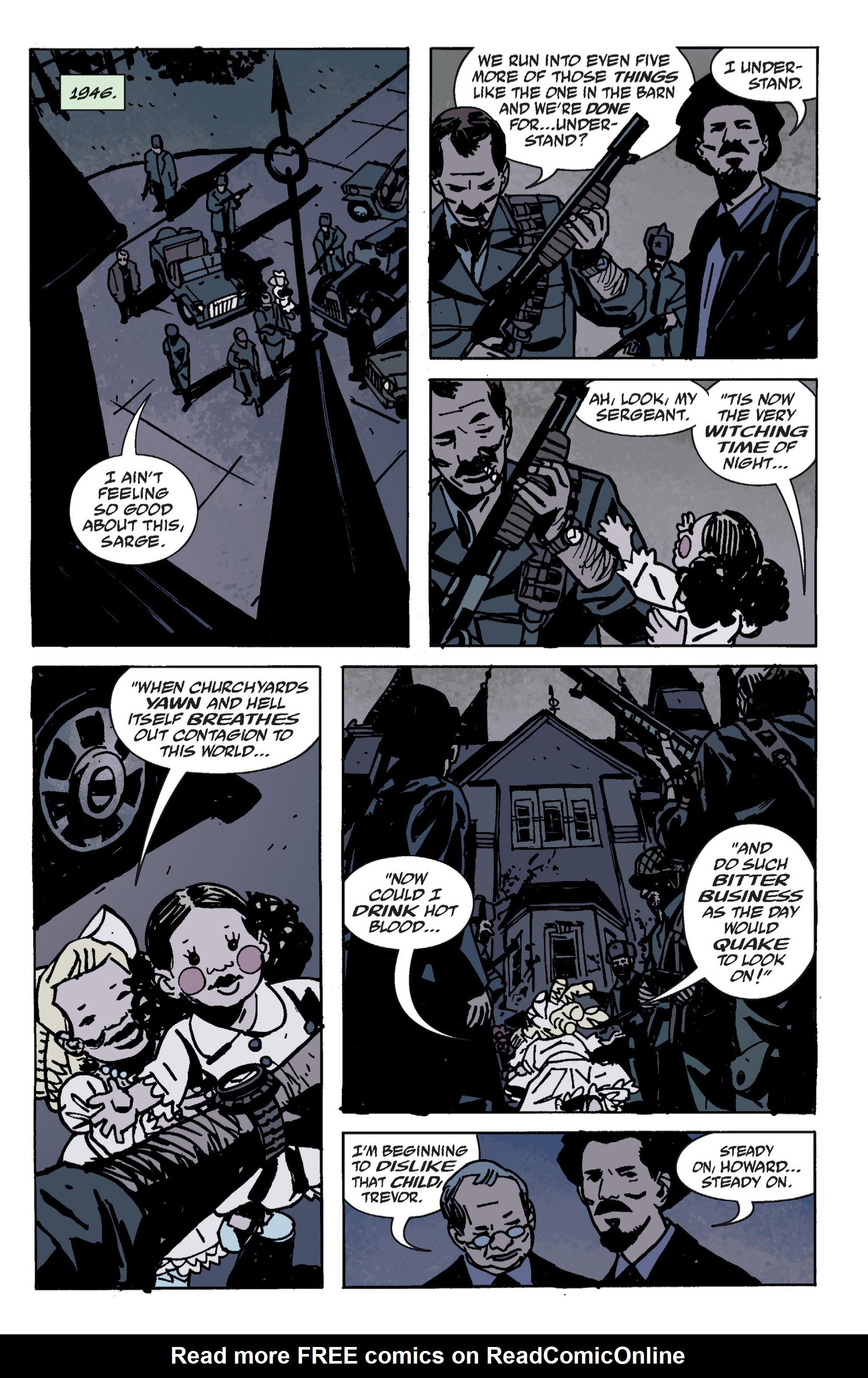 Read online B.P.R.D. (2003) comic -  Issue # TPB 9 - 61