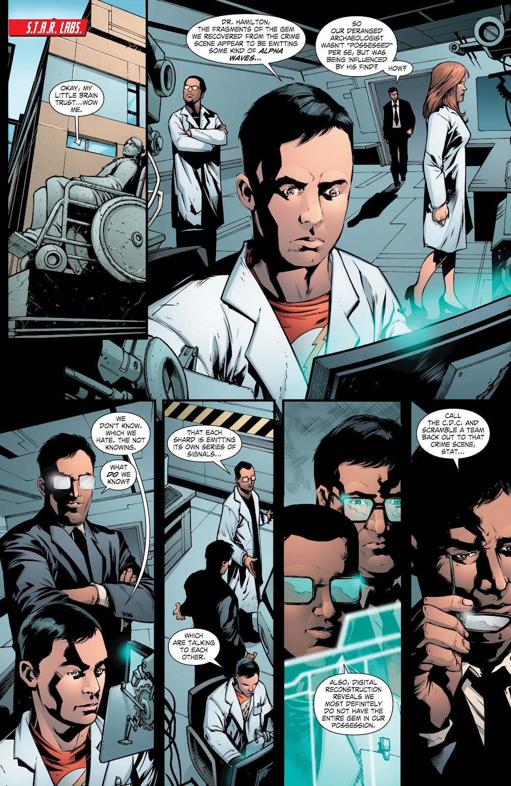 Read online Smallville Season 11 [II] comic -  Issue # TPB 8 - 64