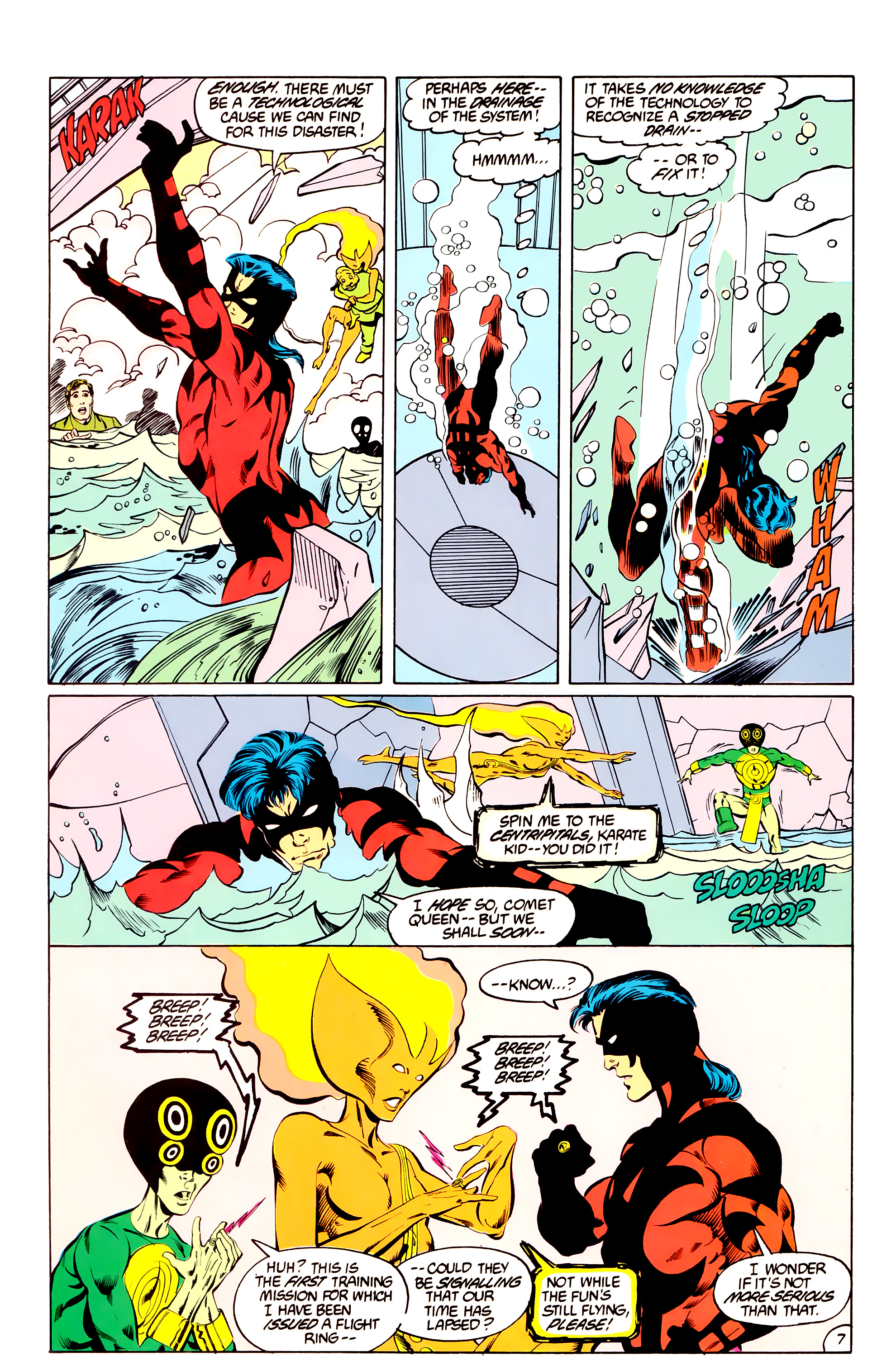Legion of Super-Heroes (1984) _Annual_3 Page 7