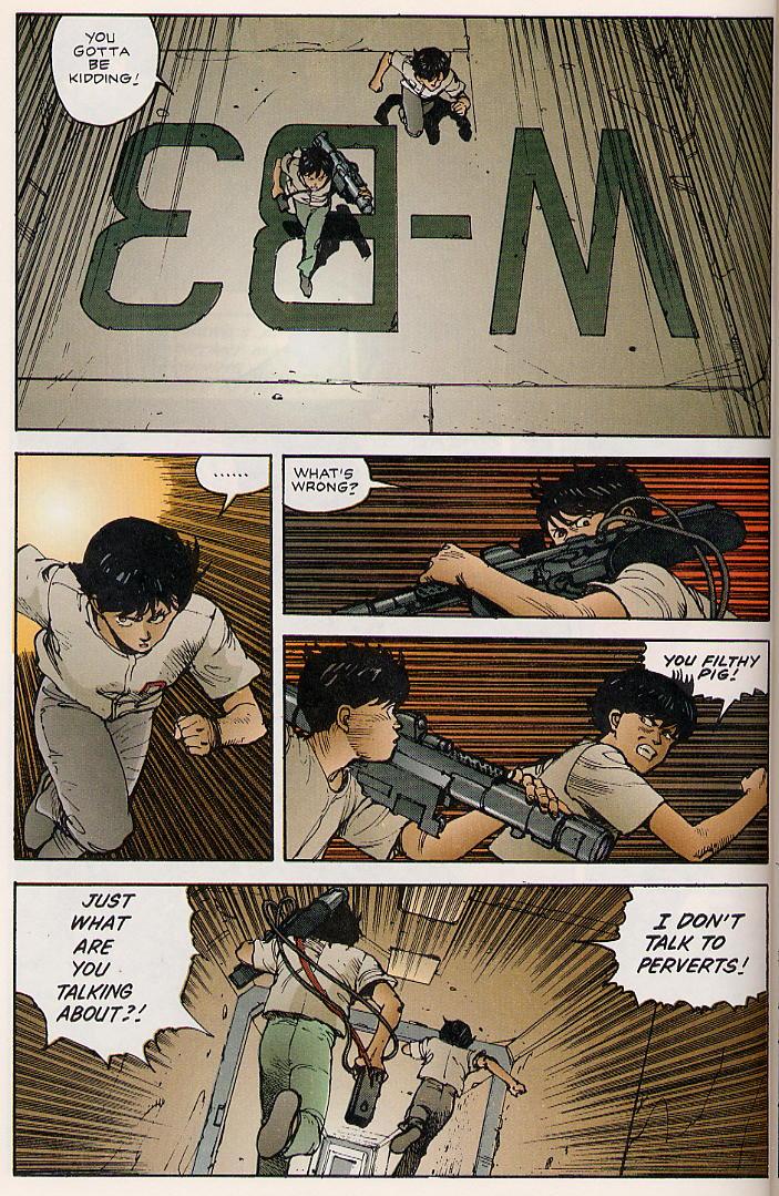 Read online Akira comic -  Issue #8 - 32