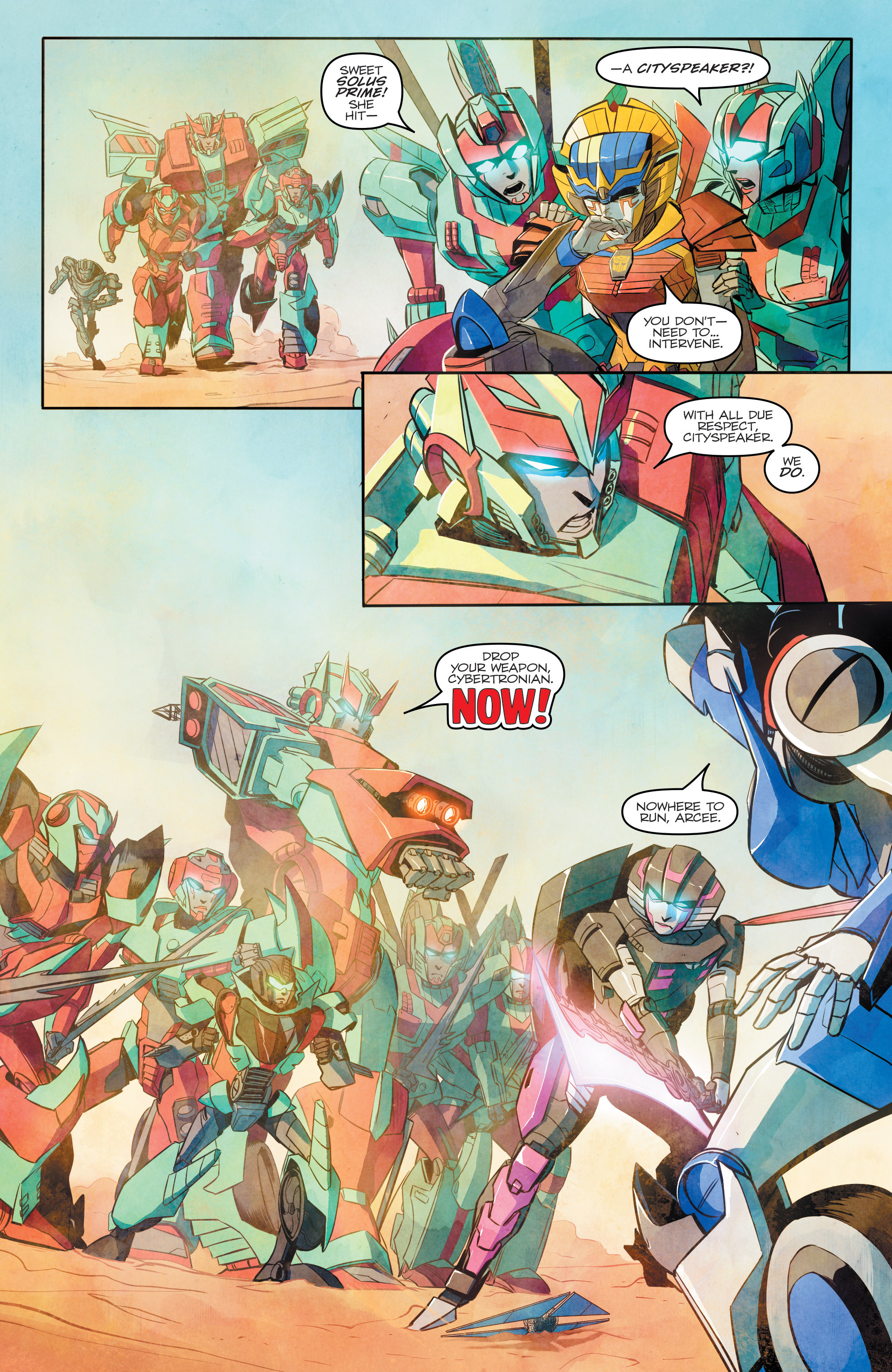 Read online Transformers: Combiner Hunters comic -  Issue # Full - 12
