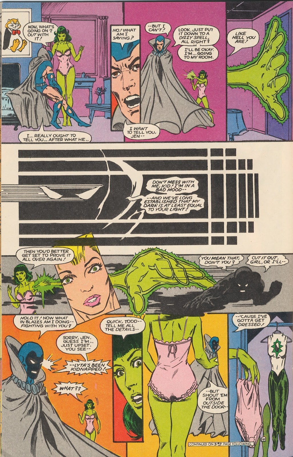 Infinity Inc. (1984) issue 17 - Page 21