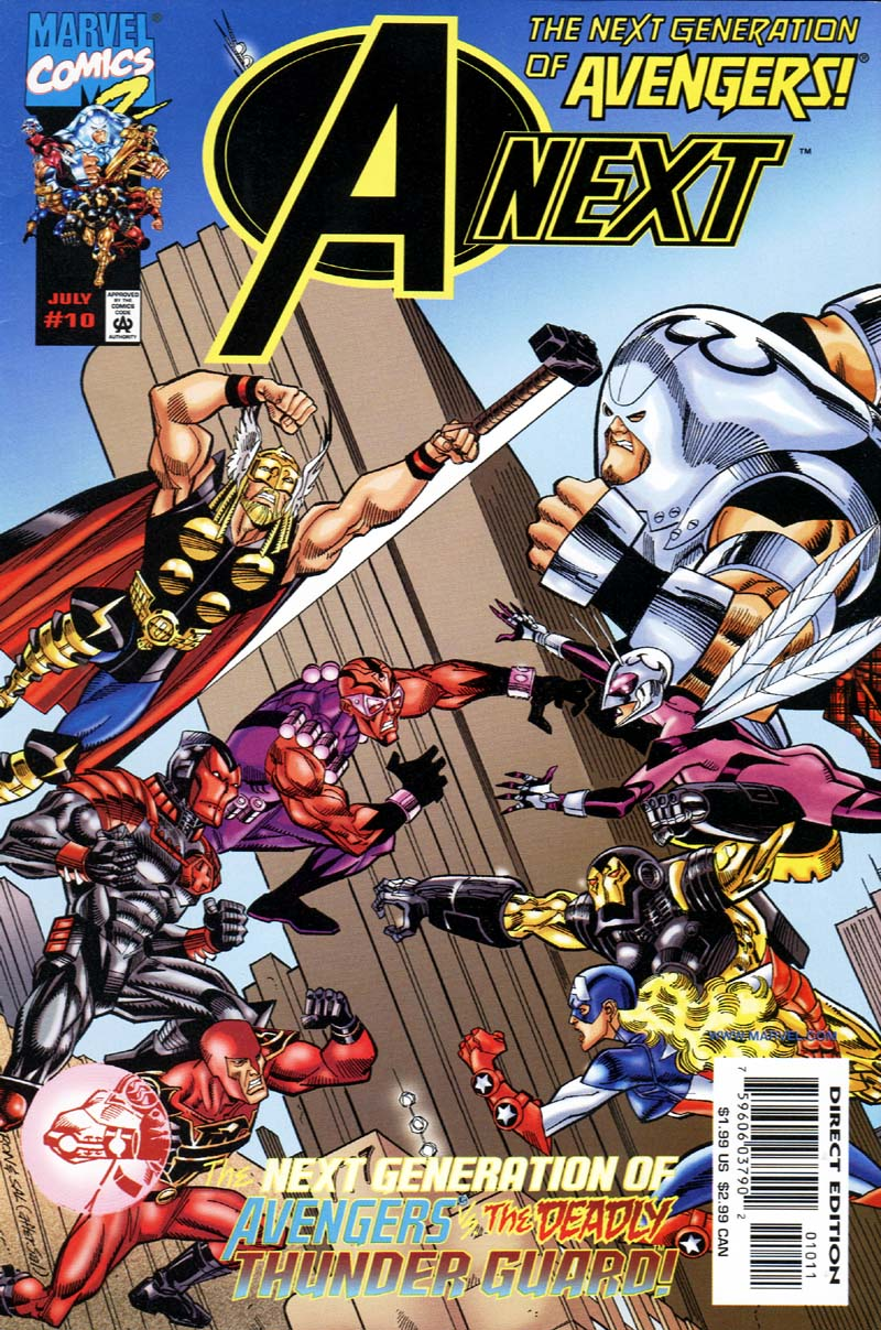 Read online A-Next comic -  Issue #10 - 1