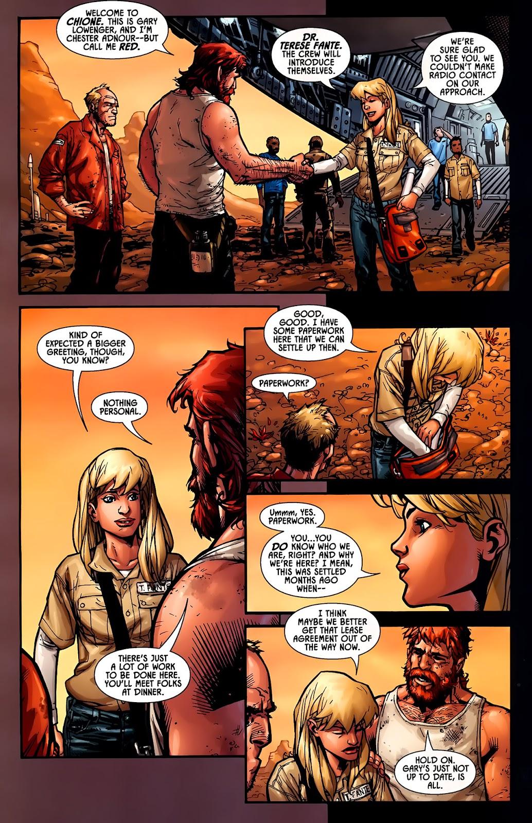 Read online Aliens (2009) comic -  Issue #1 - 16