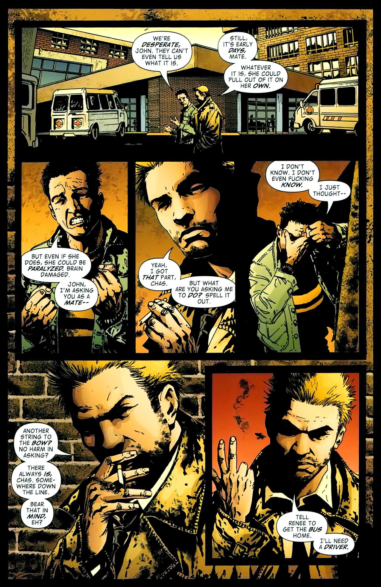 Read online John Constantine Hellblazer: All His Engines comic -  Issue # Full - 19