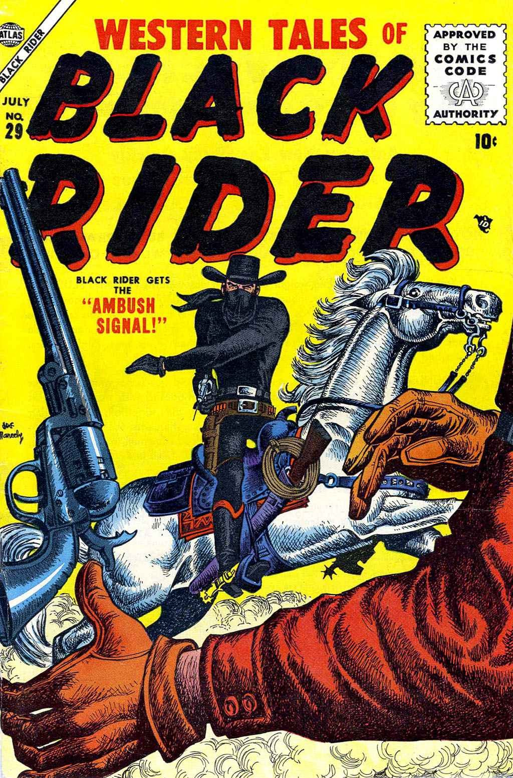 Western Tales of Black Rider 29 Page 1