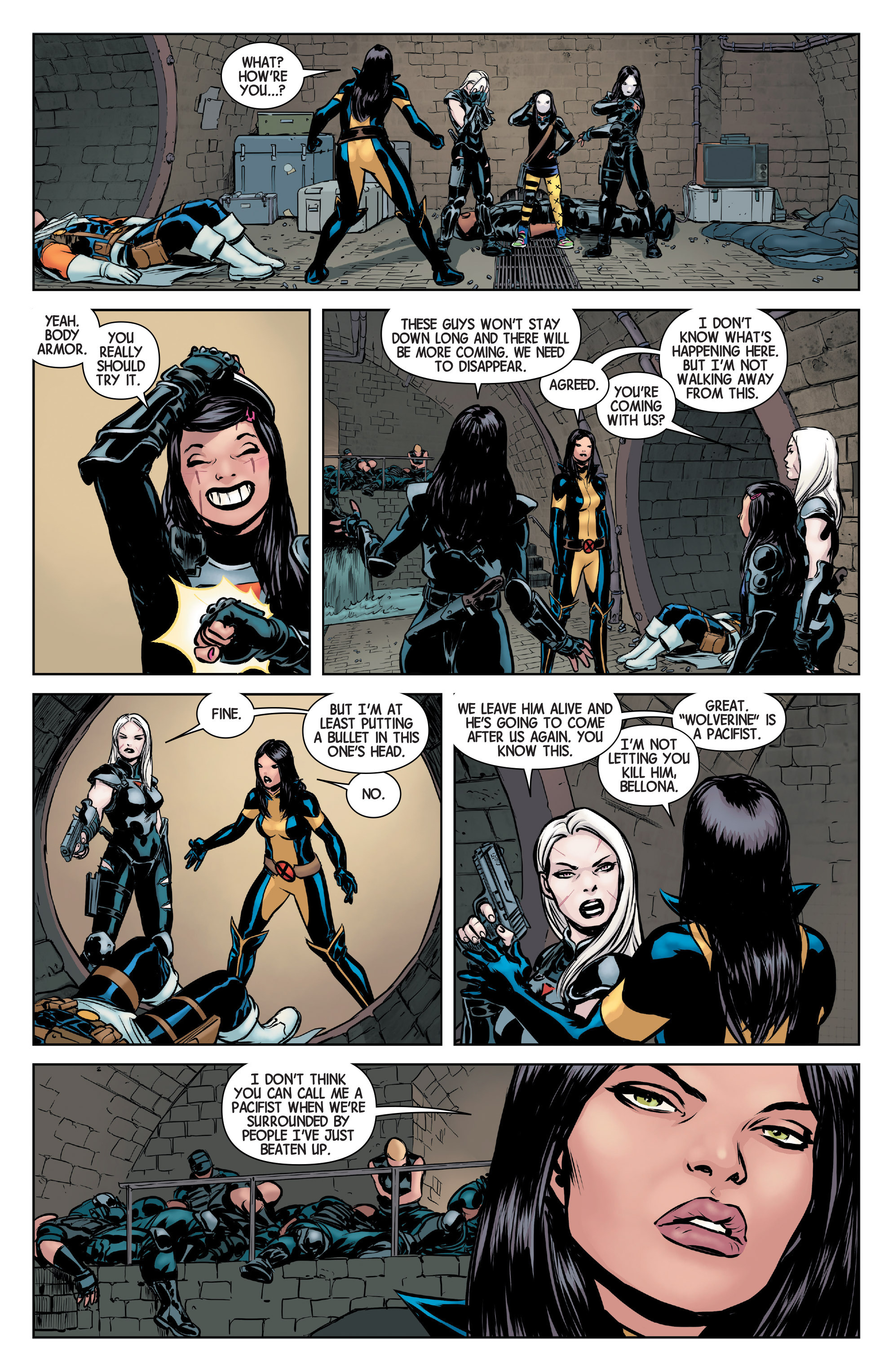 Read online All-New Wolverine (2016) comic -  Issue #3 - 7