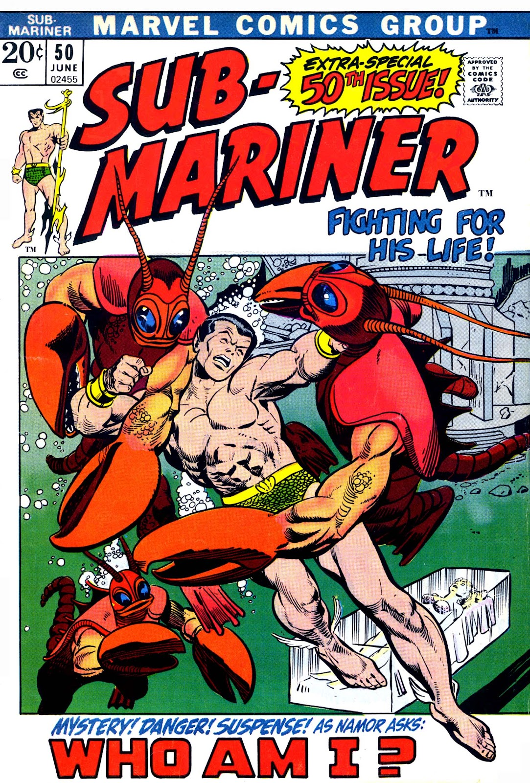 The Sub-Mariner 50 Page 1