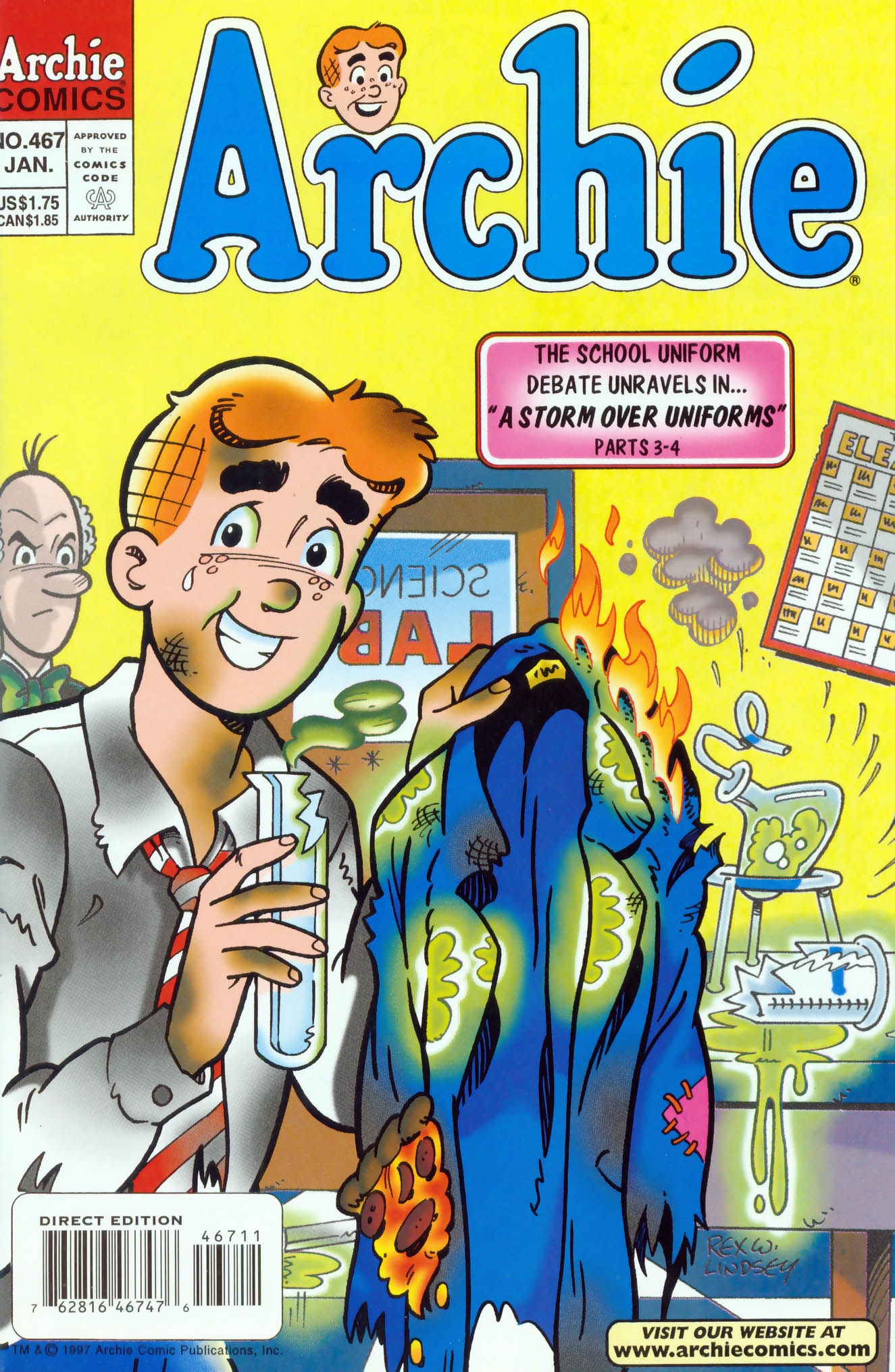 Read online Archie (1960) comic -  Issue #467 - 1