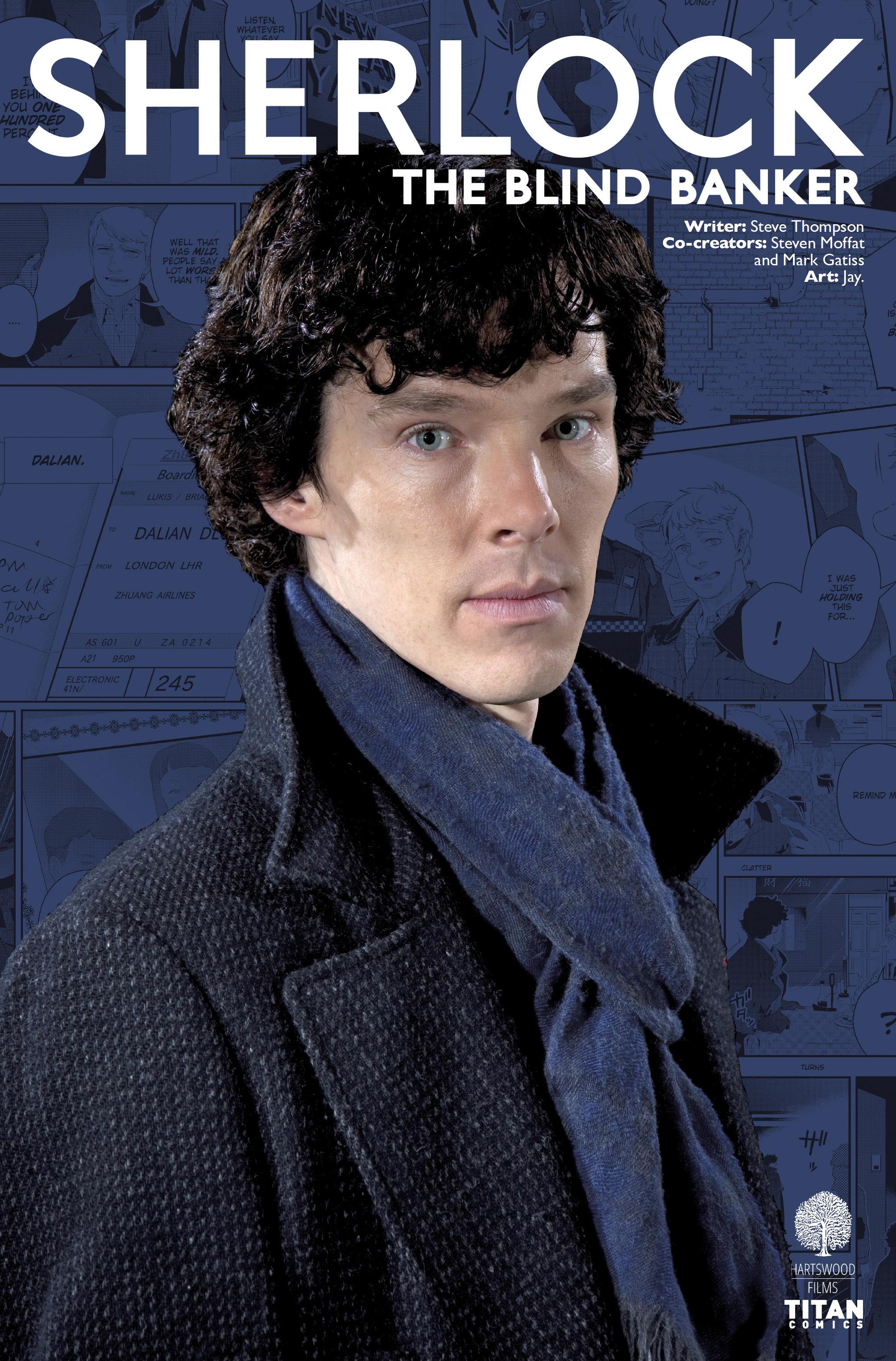 Read online Sherlock: The Blind Banker comic -  Issue #5 - 2