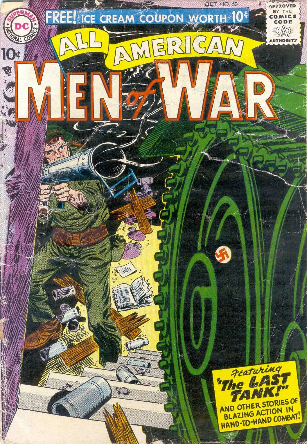 All-American Men of War issue 50 - Page 1