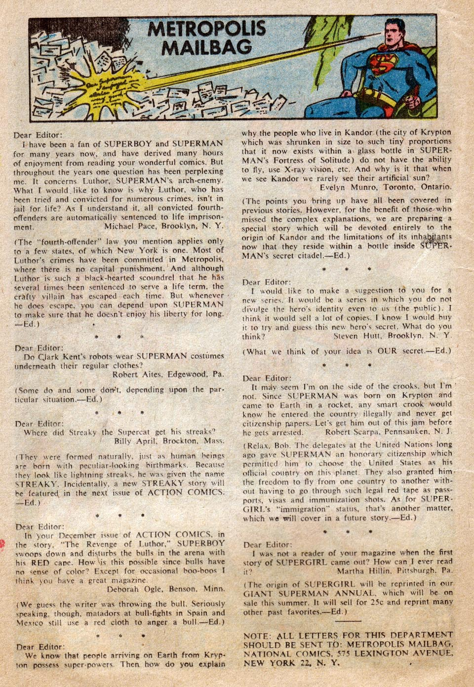 Read online Action Comics (1938) comic -  Issue #265 - 18
