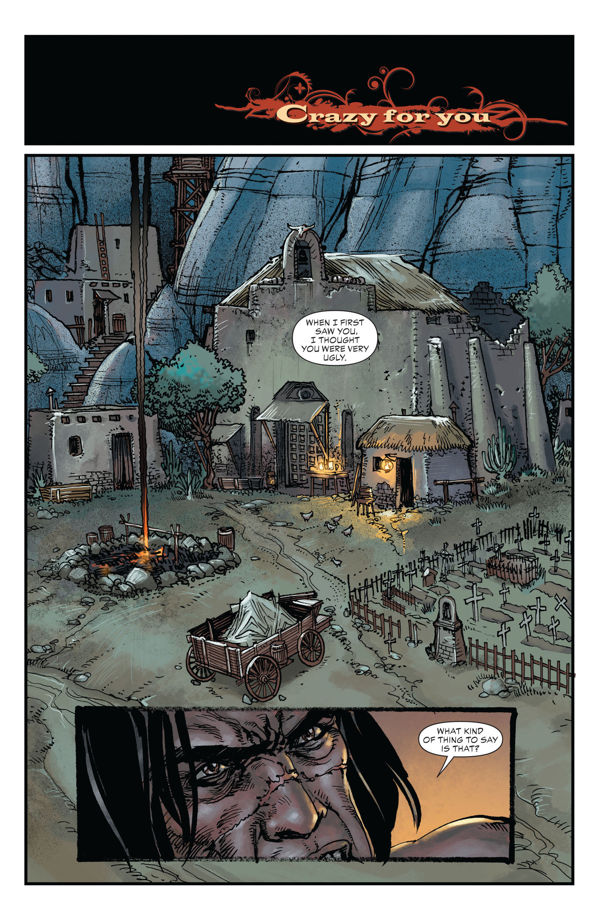 Read online All-Star Western (2011) comic -  Issue #20 - 9