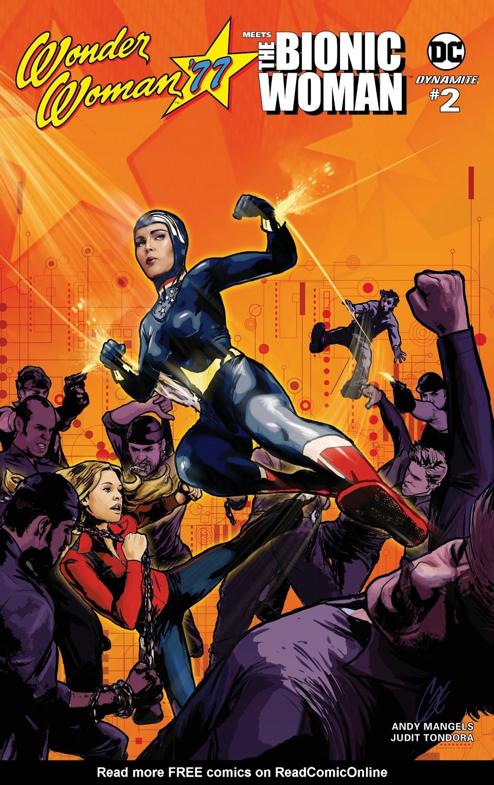 Wonder Woman 77 Meets The Bionic Woman 2 Page 1