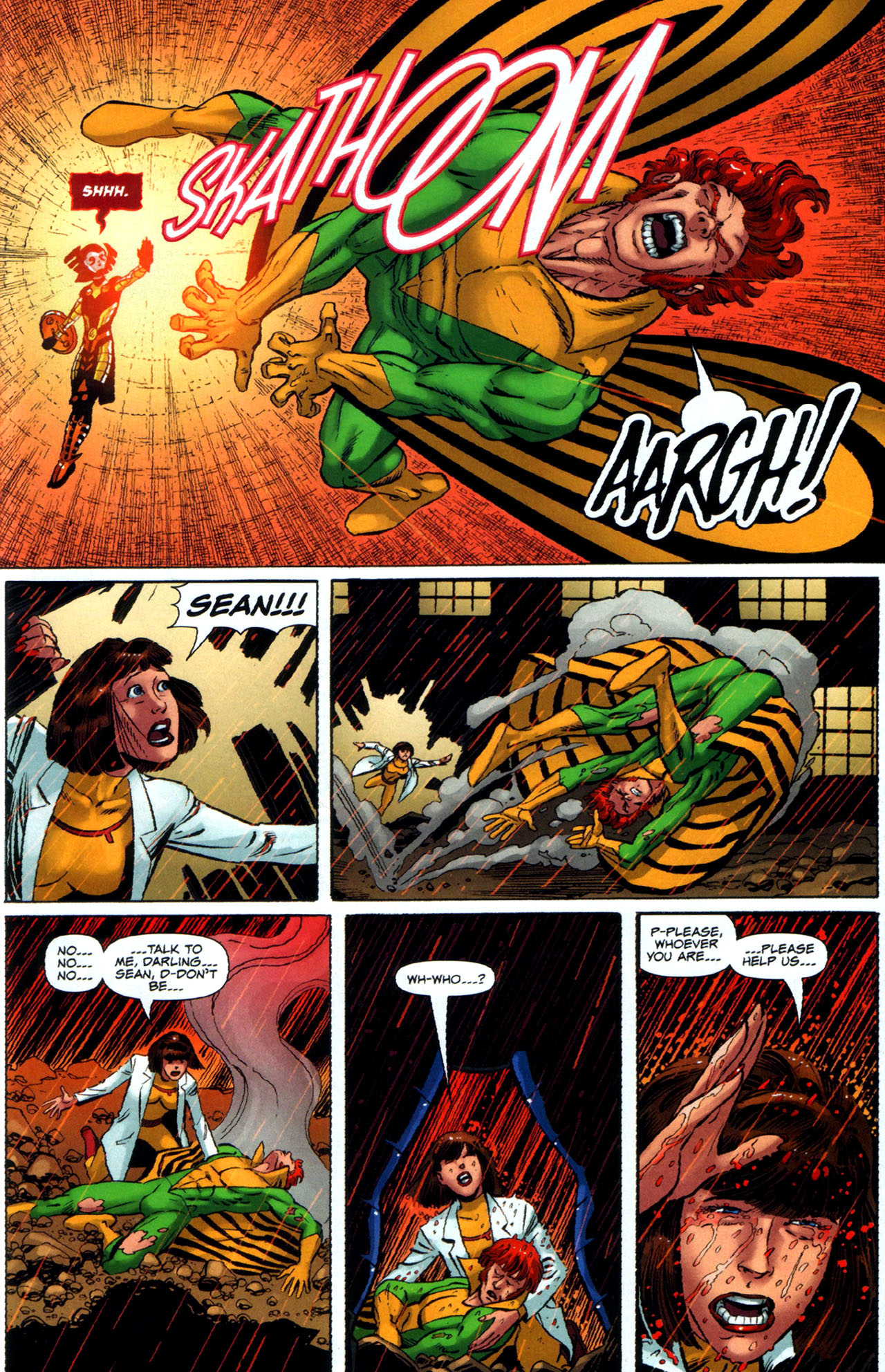 Read online Uncanny X-Men: First Class comic -  Issue #5 - 20